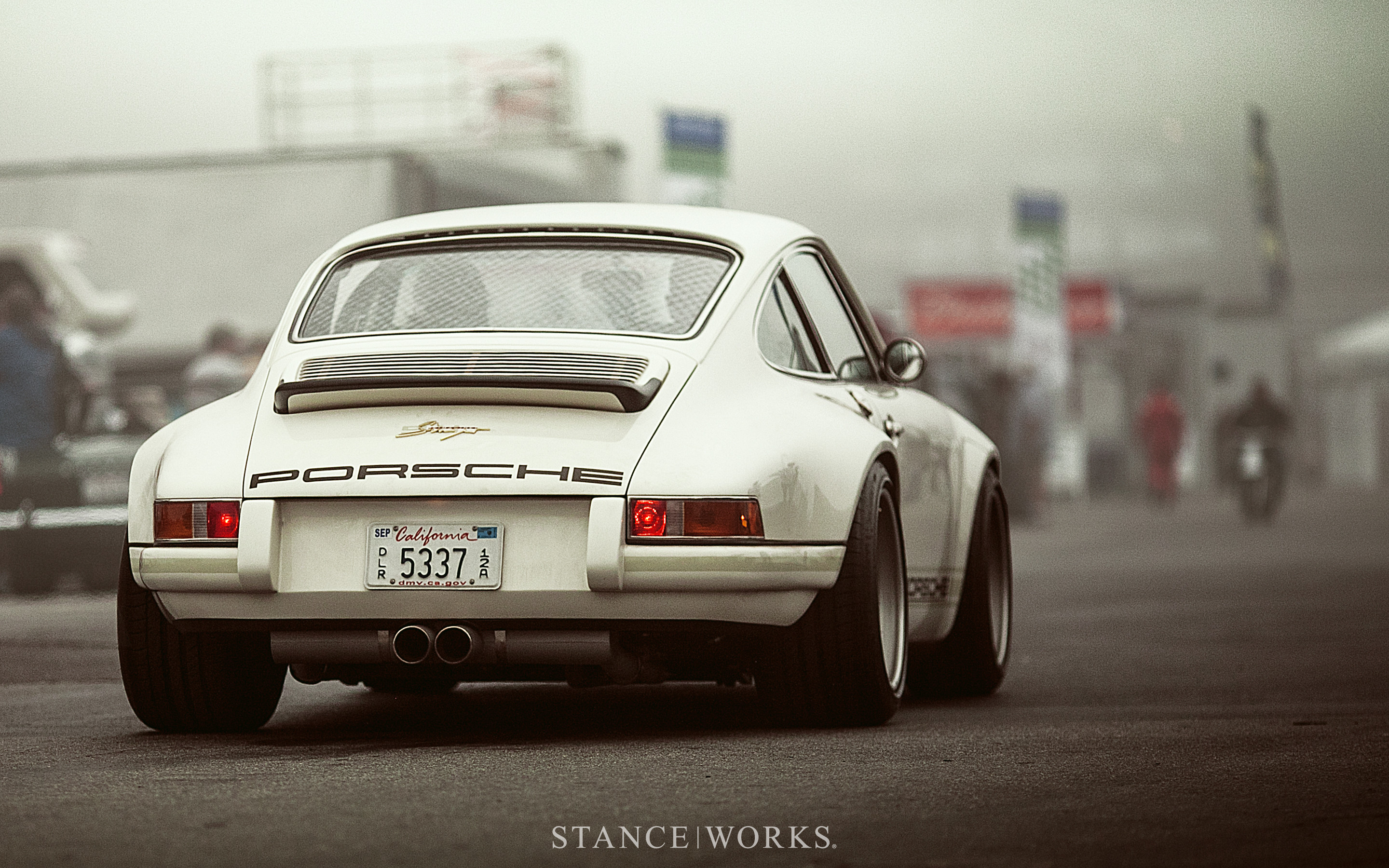 2880x1800 Stance Works - Singer Porsche Desktop Wallpaper
