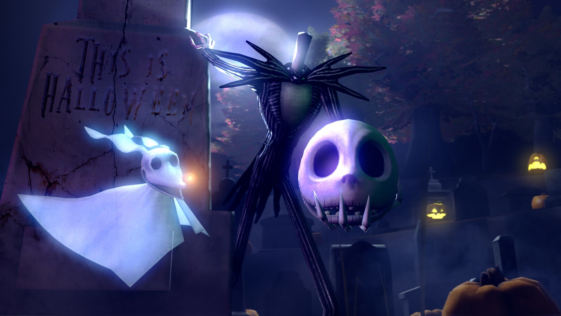 Nightmare Before Christmas Wallpaper Android.The Nightmare Before Christmas Backgrounds 61 Images