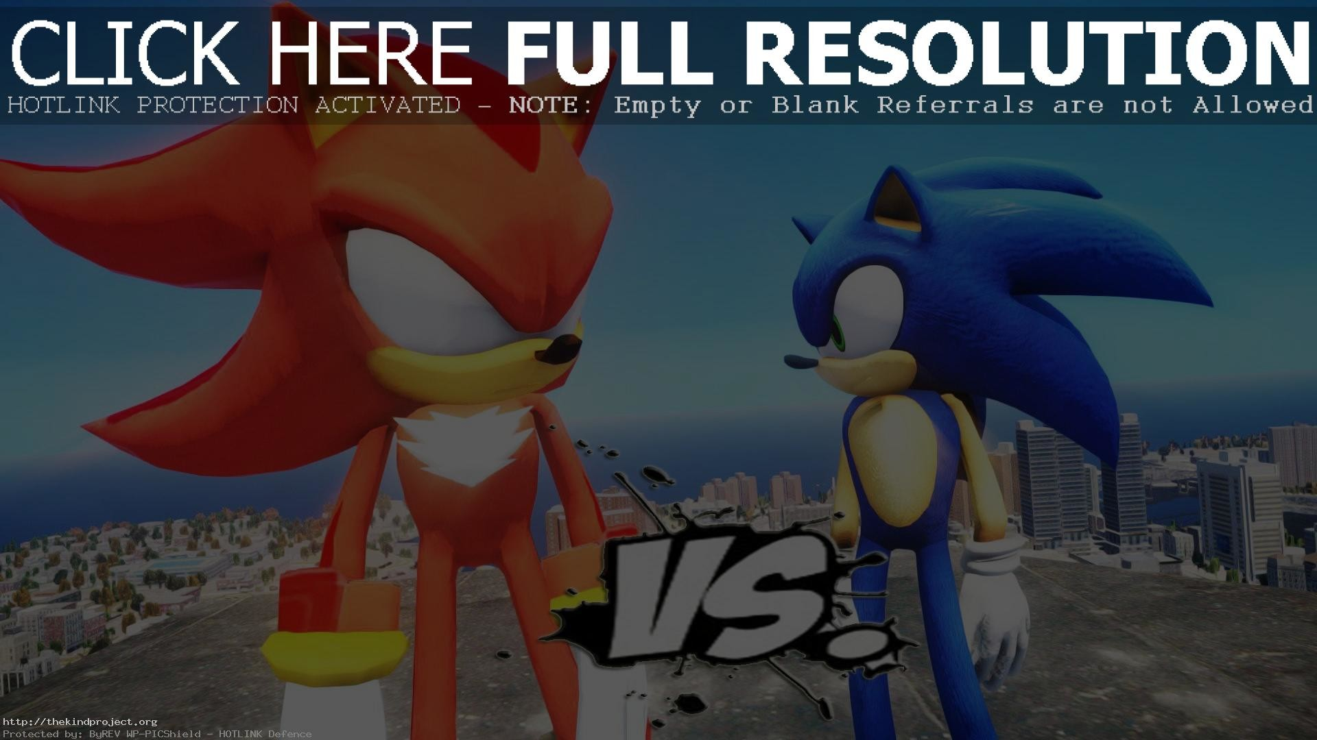 1920x1080 Dark Super Shadow The Hedgehog Vs Sonic EPIC BATTLE Best