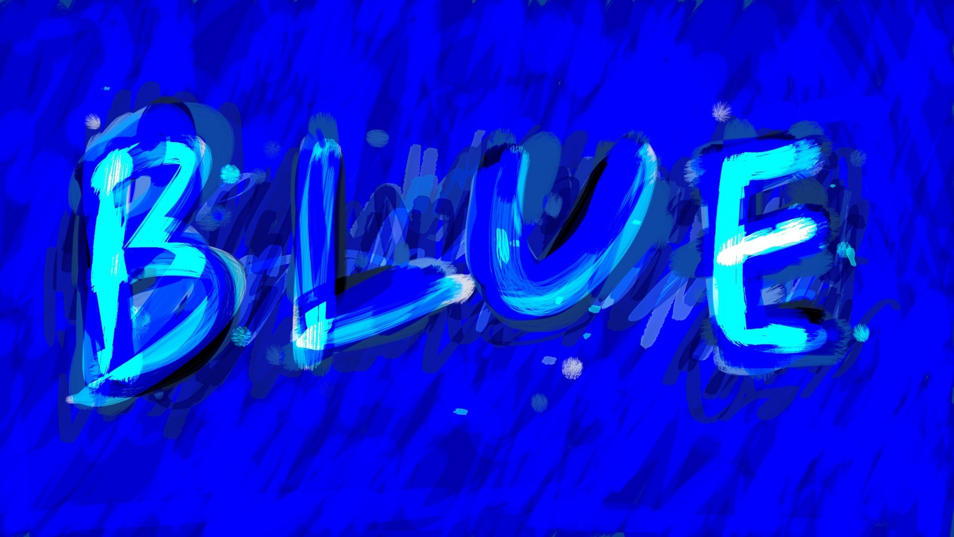1920x1080 Preview wallpaper blue, label, background, paint