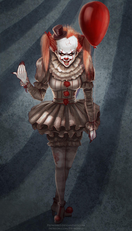1920x1080 It The Clown Wallpaper