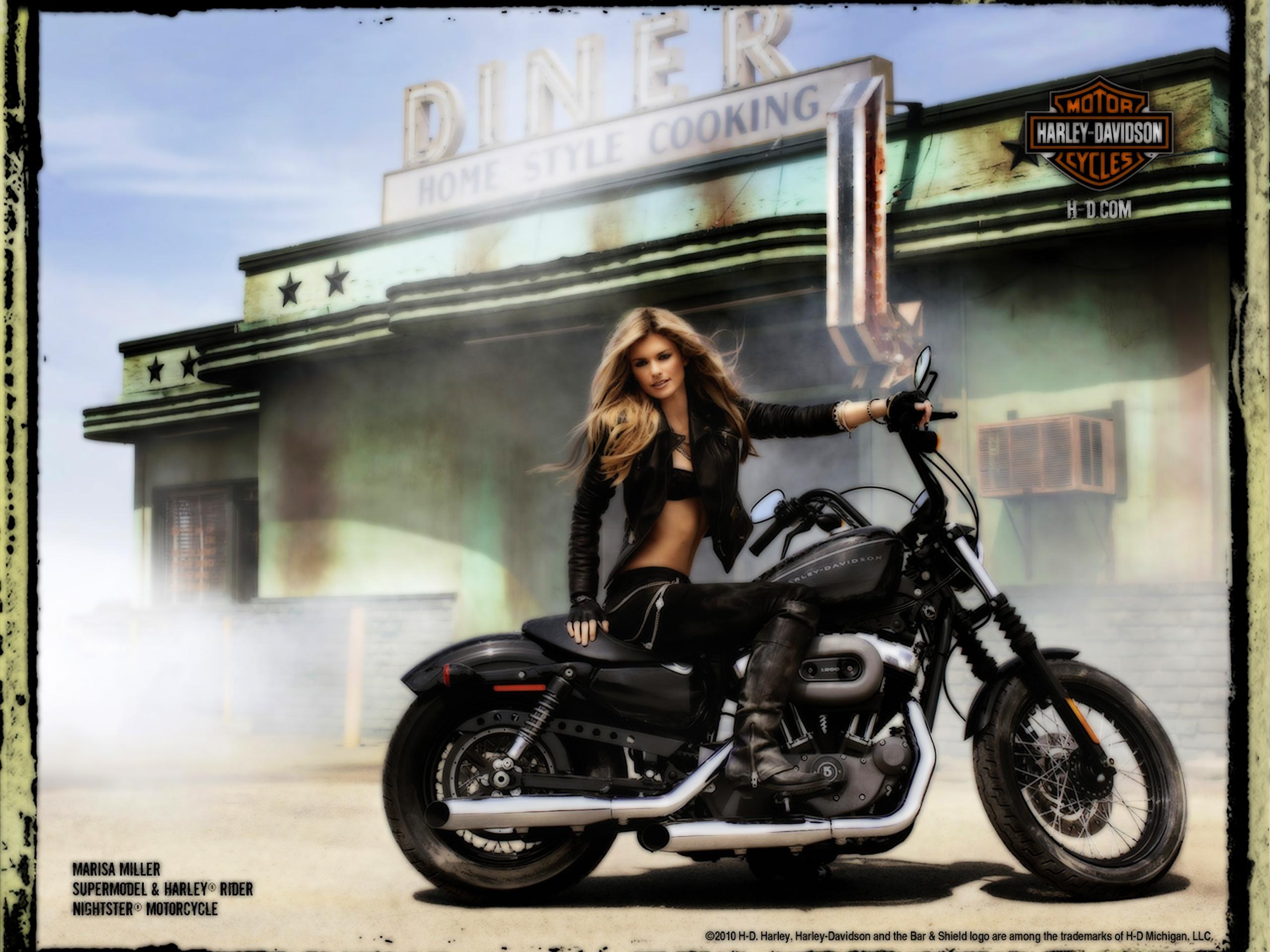 Harley Davidson Female Models