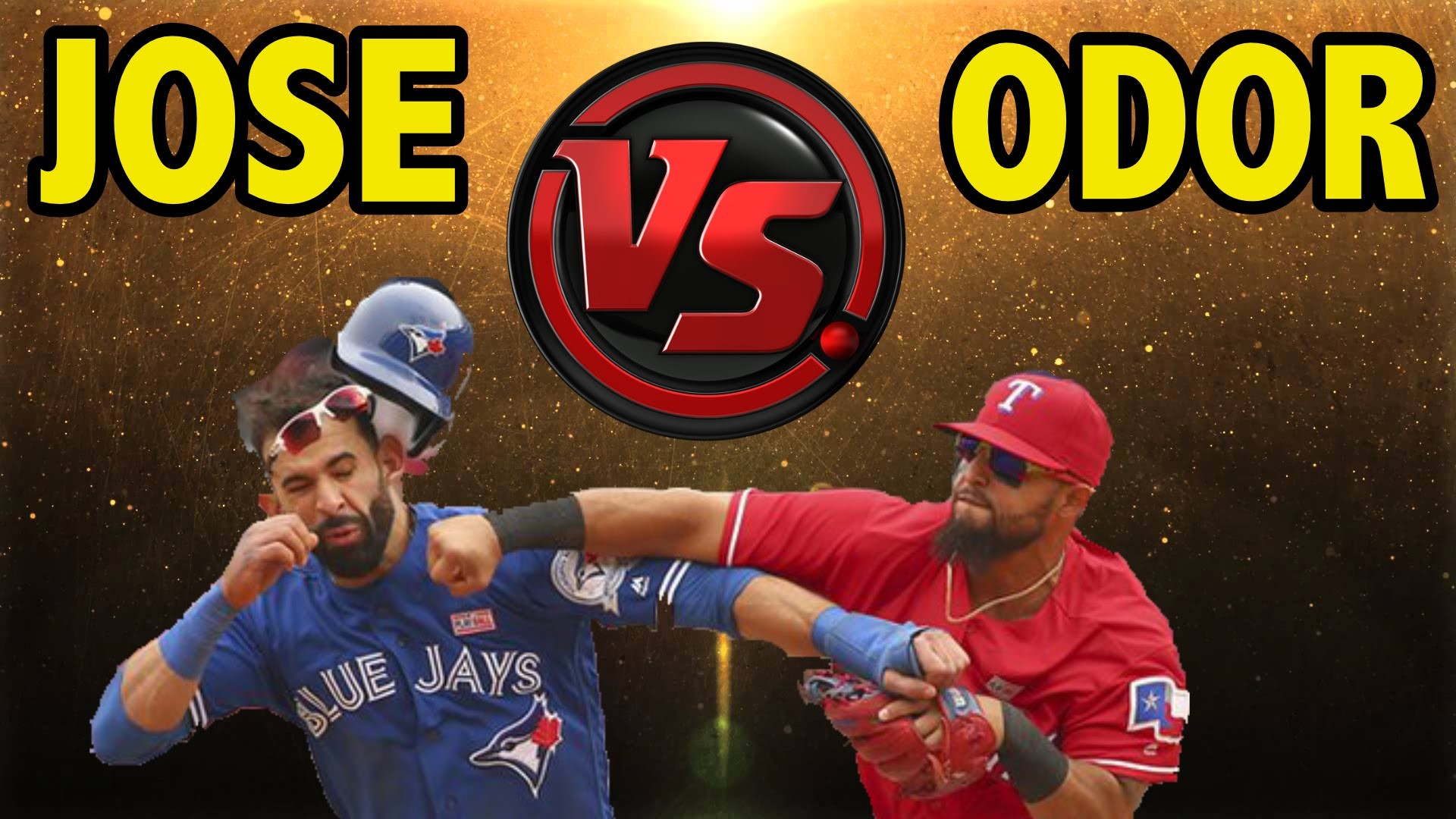 1920x1080 JOSE BAUTISTA VS ROUGNED ODOR BATTLE | MLB THE SHOW 16 BATTING CHALLENGE -  YouTube