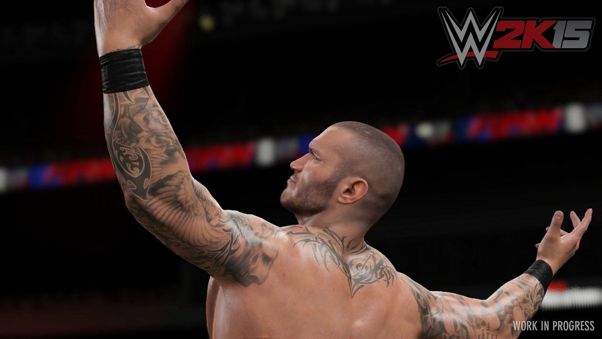 1920x1080 WWE 2K15: First In-Game Shots of Randy Orton Ready to Strike on .