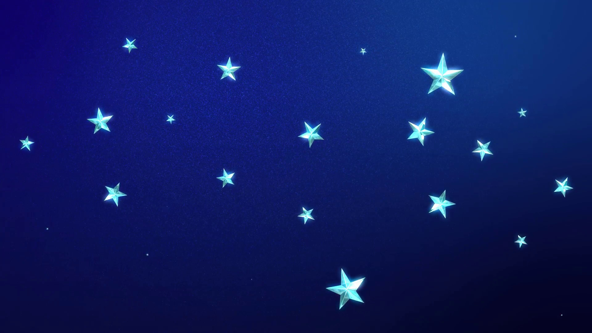 1920x1080 Looping Animation of Twinkling Stars on a Midnight Blue Background Motion  Background - Storyblocks Video