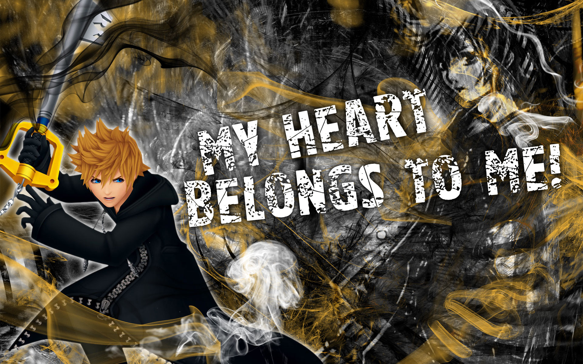 1920x1200 Kingdom Hearts Wallpaper Sora And Roxas Roxas wallpape…