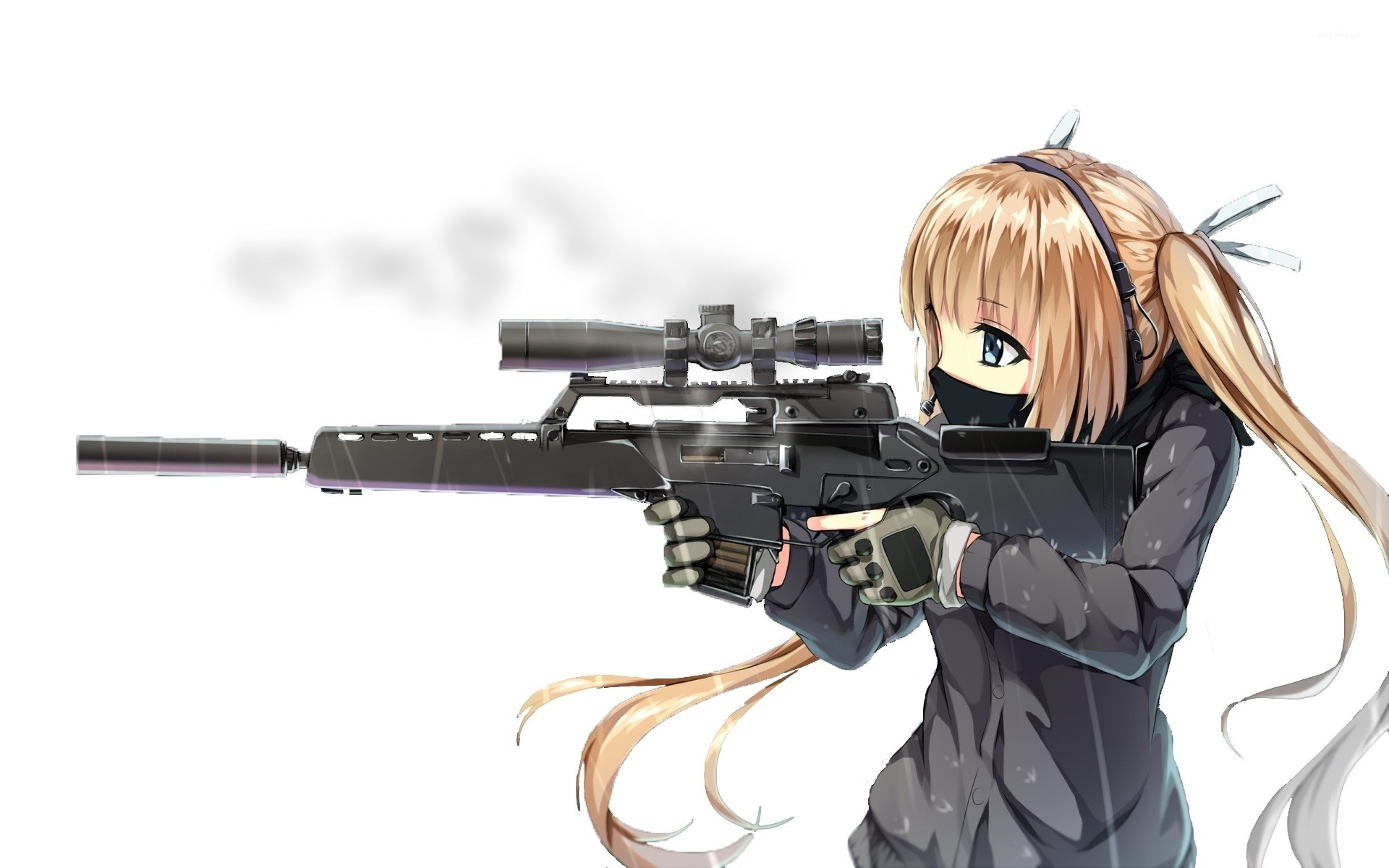1920x1200 Cute sniper wallpaper