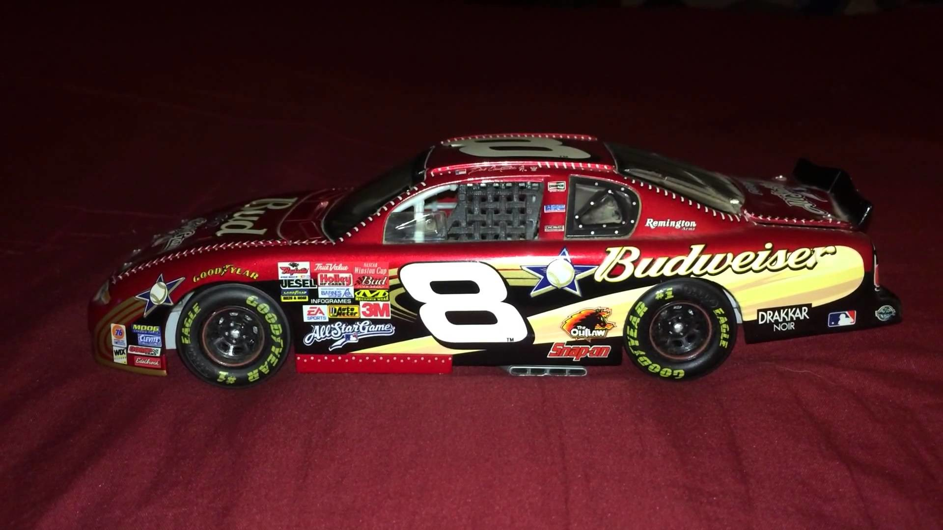 1920x1080 Dale Earnhardt Jr 2002 #8 MLB All Star Game 1:24th Diecast