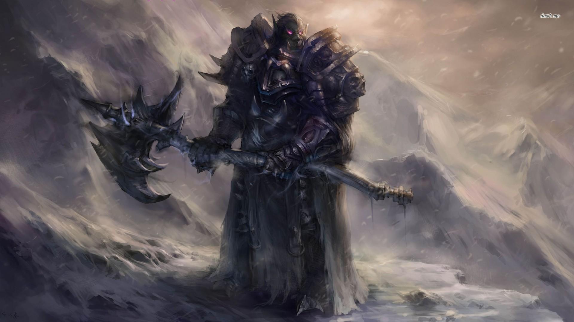 World Of Warcraft The Dark Portal Uhd 4k Wallpaper: Orc Death Knight Wallpaper (73+ Images