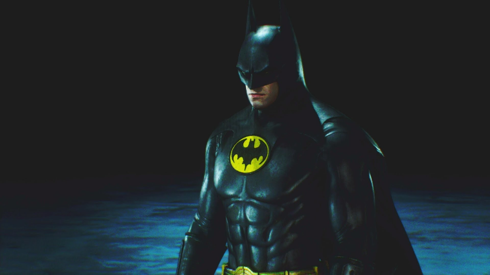 1920x1080 Batman Arkham Knight - 1989 Michael Keaton Batman Skin + Batmobile Free  Roam Gameplay - YouTube