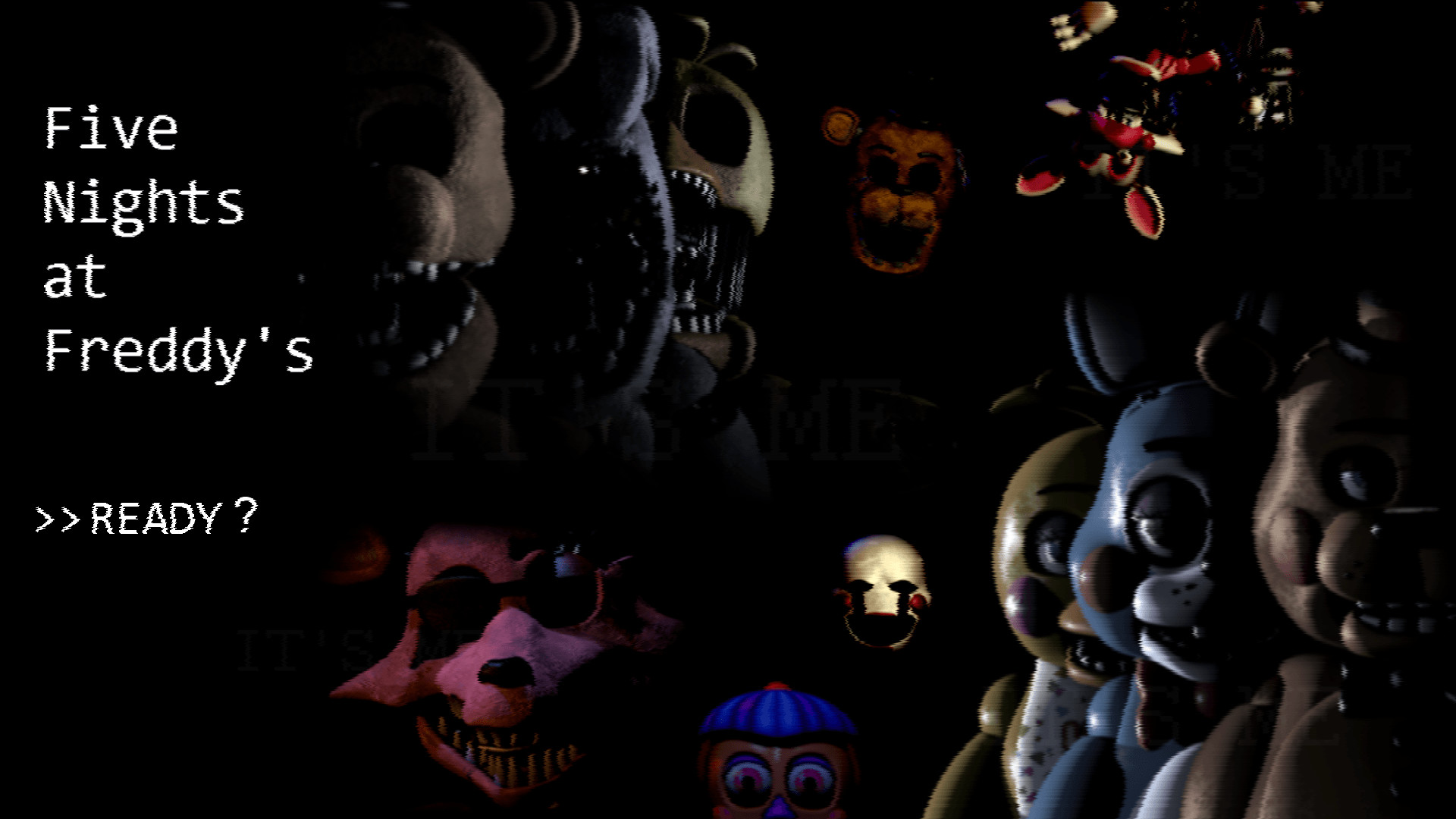 1920x1080 Five Nights At Freddys FNAF Wallpapers - Wallpaper Cave