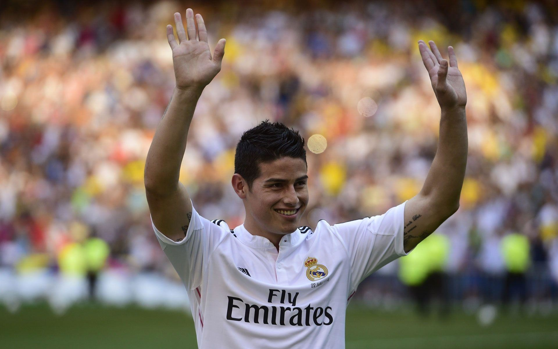 1920x1200 James Rodriguez Real Madrid | Football | Best Wallpaper HD for Desktop