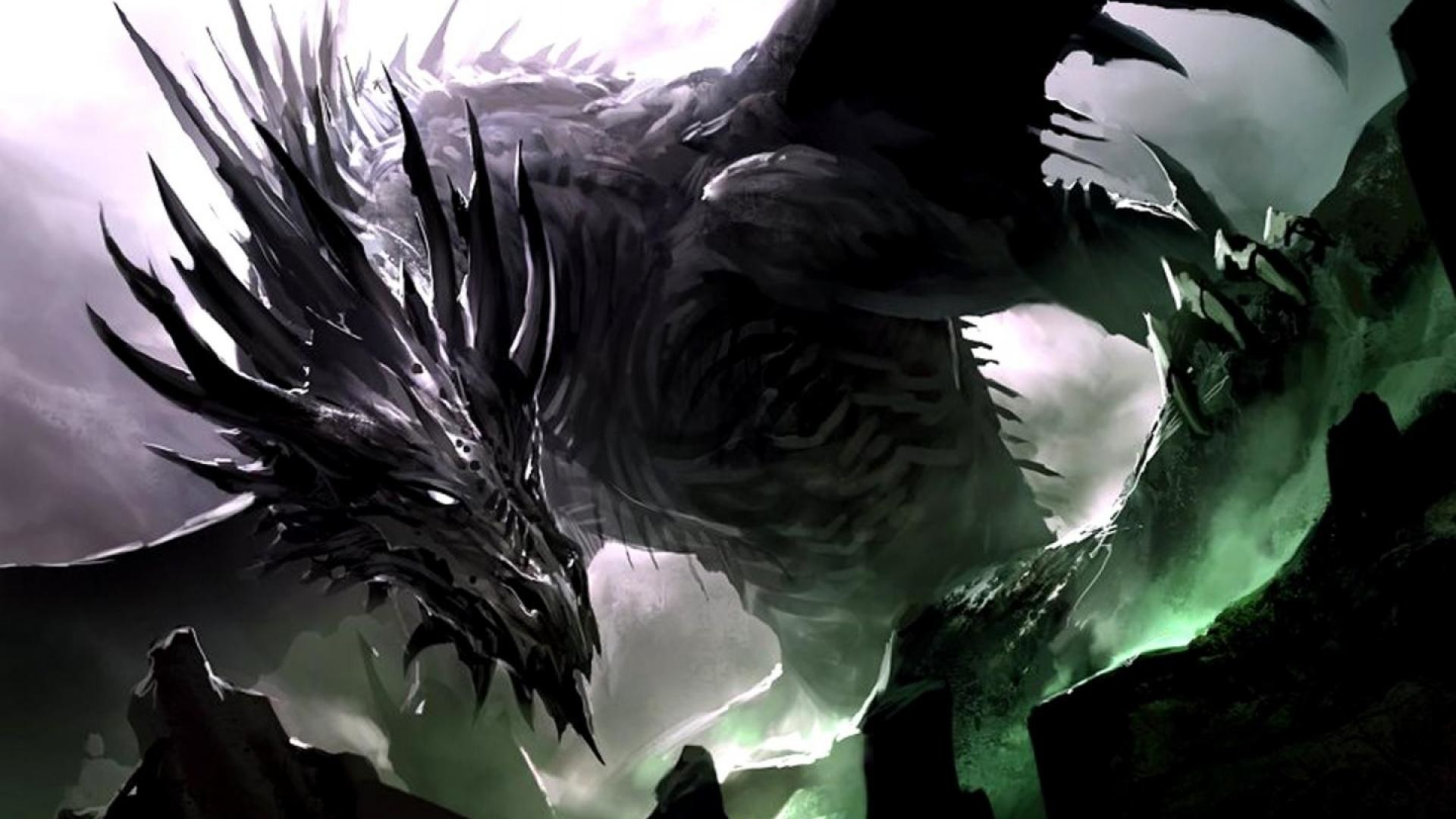 1920x1080 Black Dragon Wallpaper HD 7 hd background hd screensavers hd wallpaper .