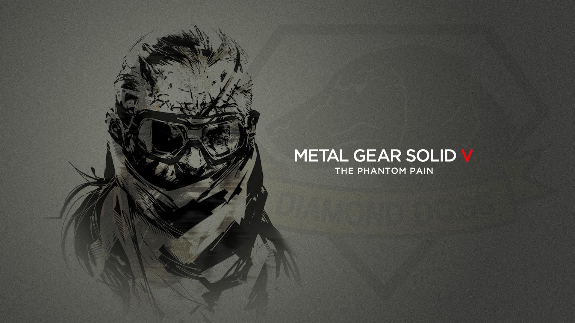 metal gear big boss wallpaper