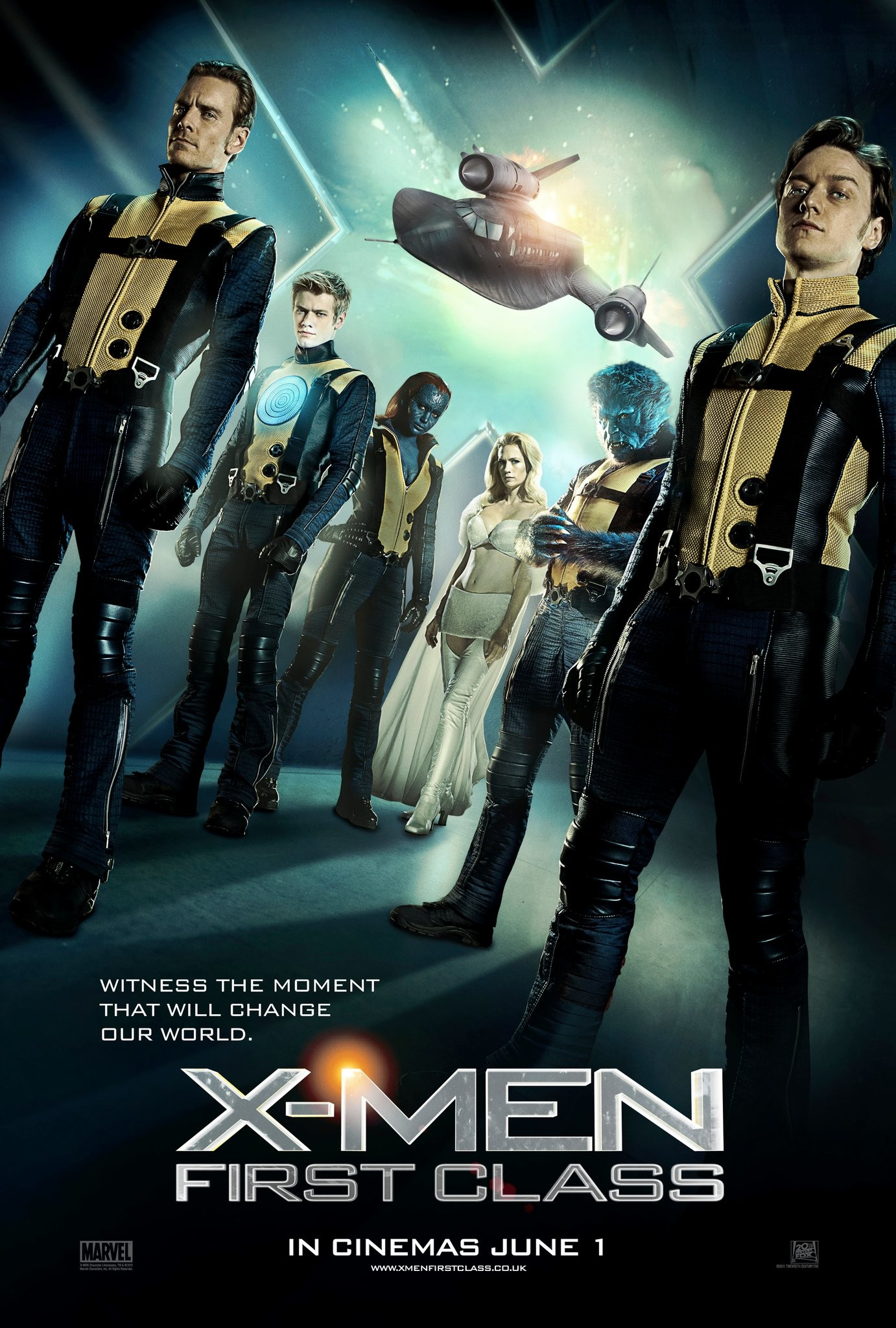 1382x2048 X-Men: First Class #1