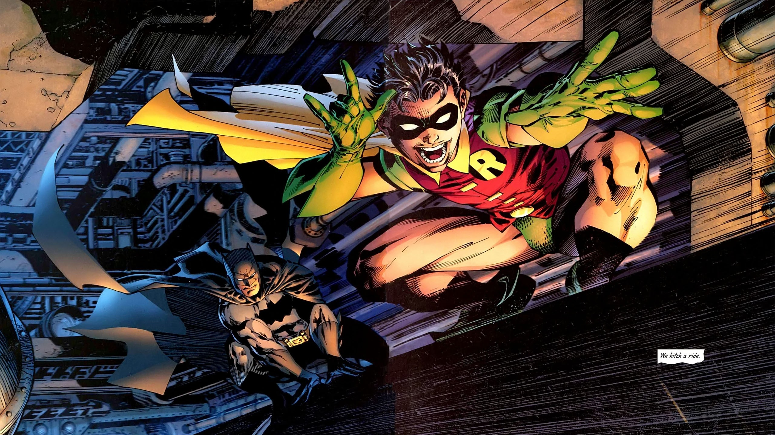 2560x1440 1 all-Star batman & robin HD Wallpapers | Backgrounds - Wallpaper Abyss