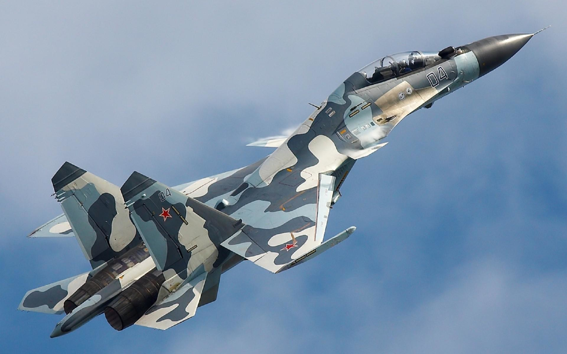 1920x1200 HD Aircraft Russia Air Force Su 35 Flanker 30mki Fighter Jets Photo Background Wallpaper