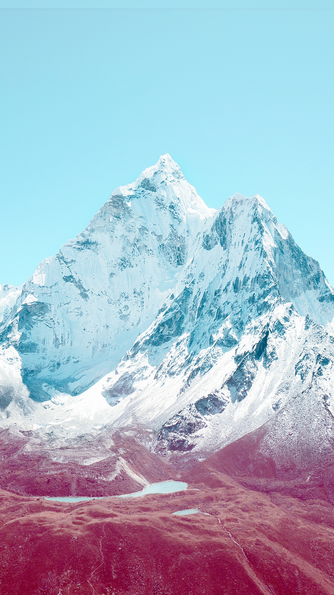 1080x1920 iOS 7 Mountains HTC hd wallpaper - Best htc one wallpapers