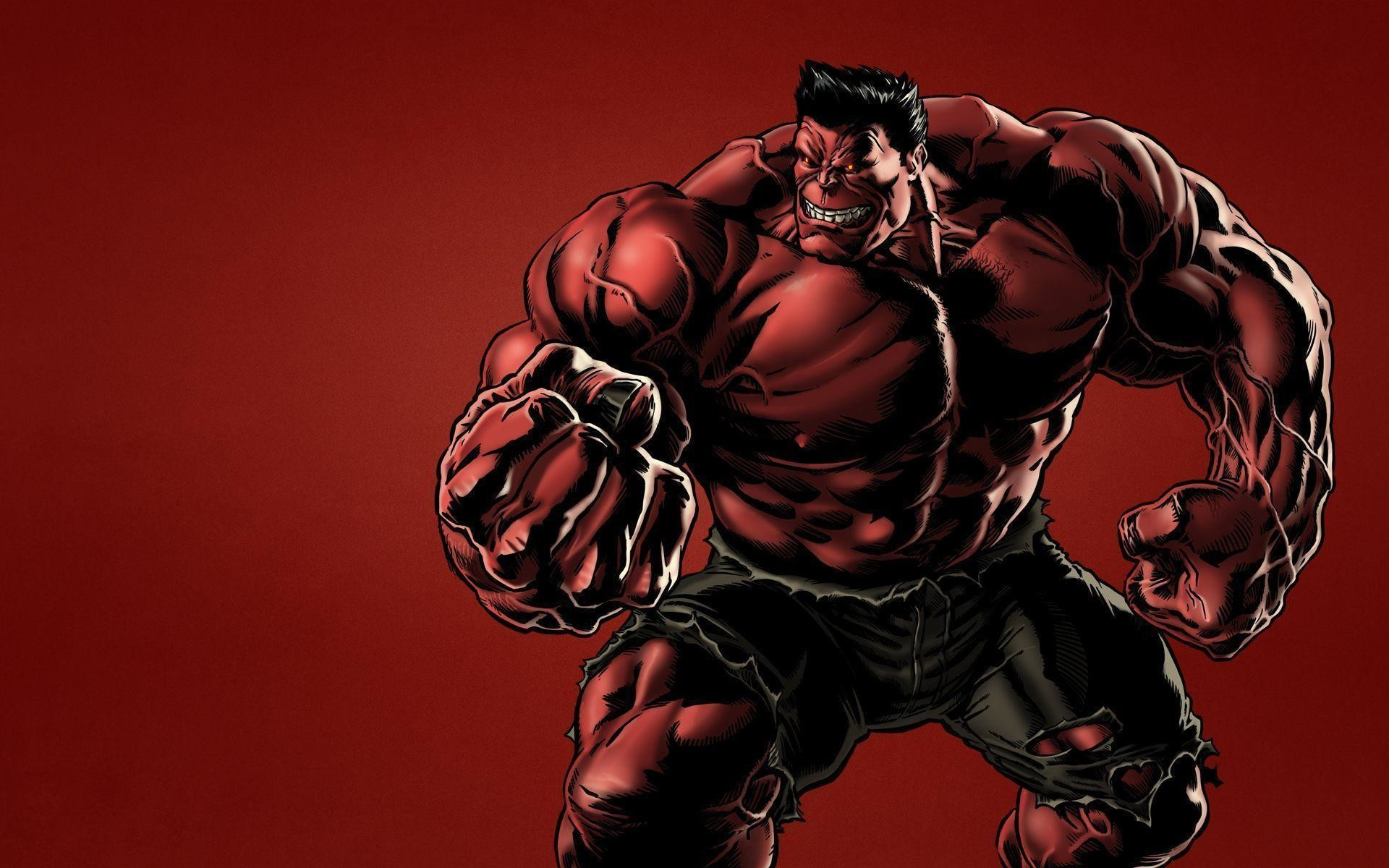 1920x1200 Wallpapers For > Red Hulk Hd Wallpapers 1080p