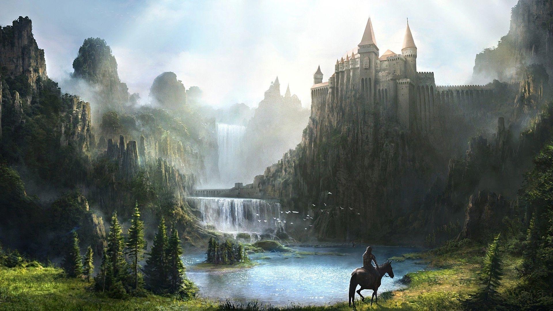 Fantasy Castle Wallpaper (88+ images)