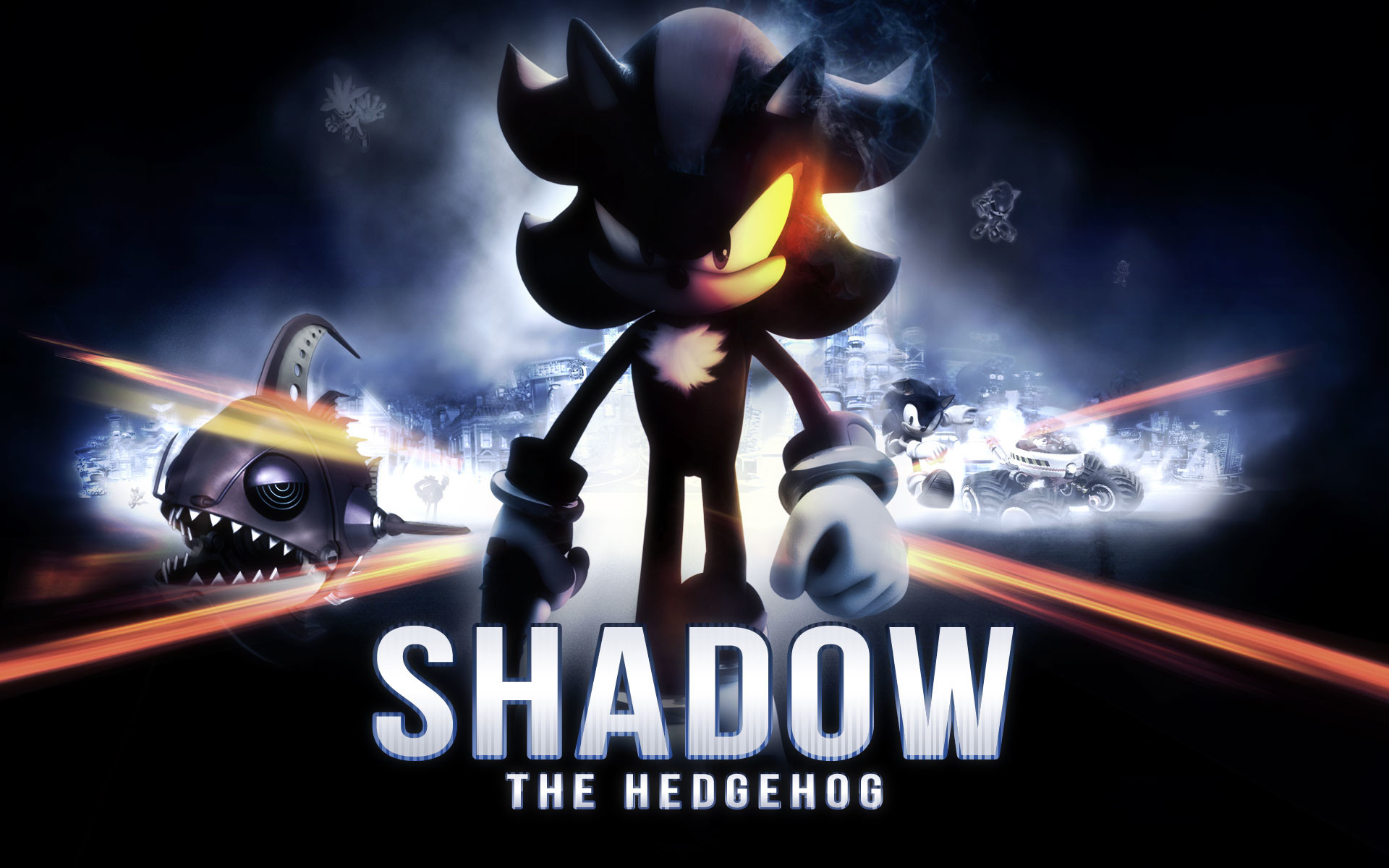 1920x1200 Cool Shadow The Hedgehog Wallpaper.