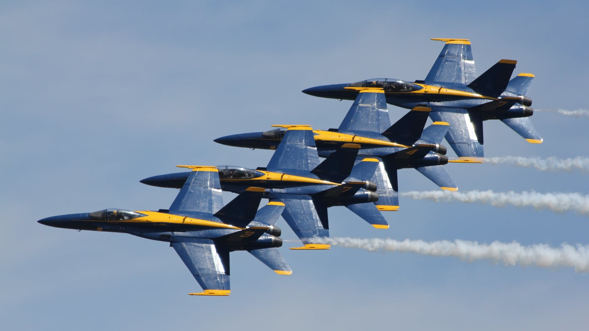 1920x1080 Blue Angels 0 HTML code. High Definition HD 1080p:  (fits on:  1600x900, 1366x768 .