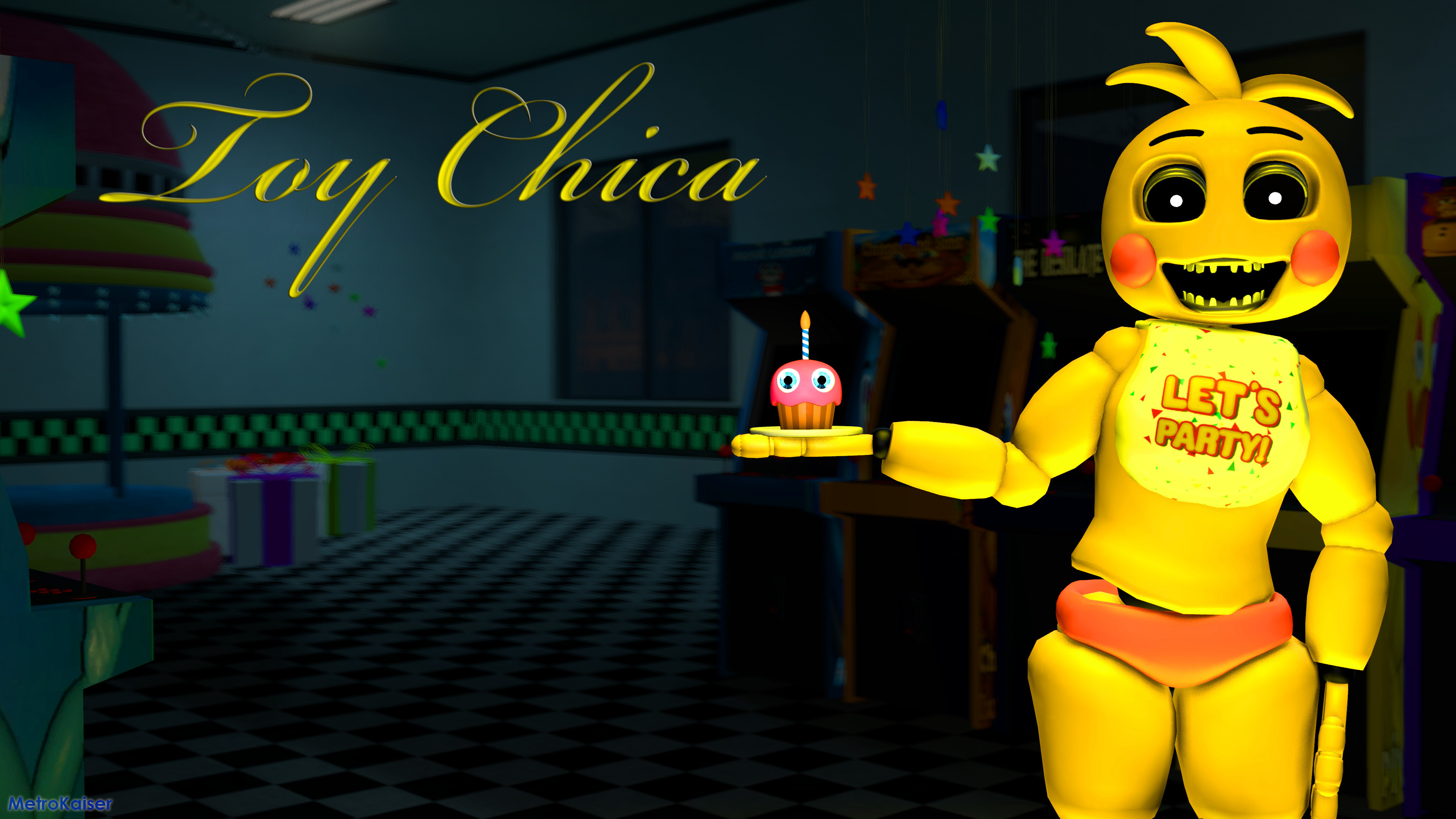 Fnaf Toy Chica Wallpaper (88+ images)
