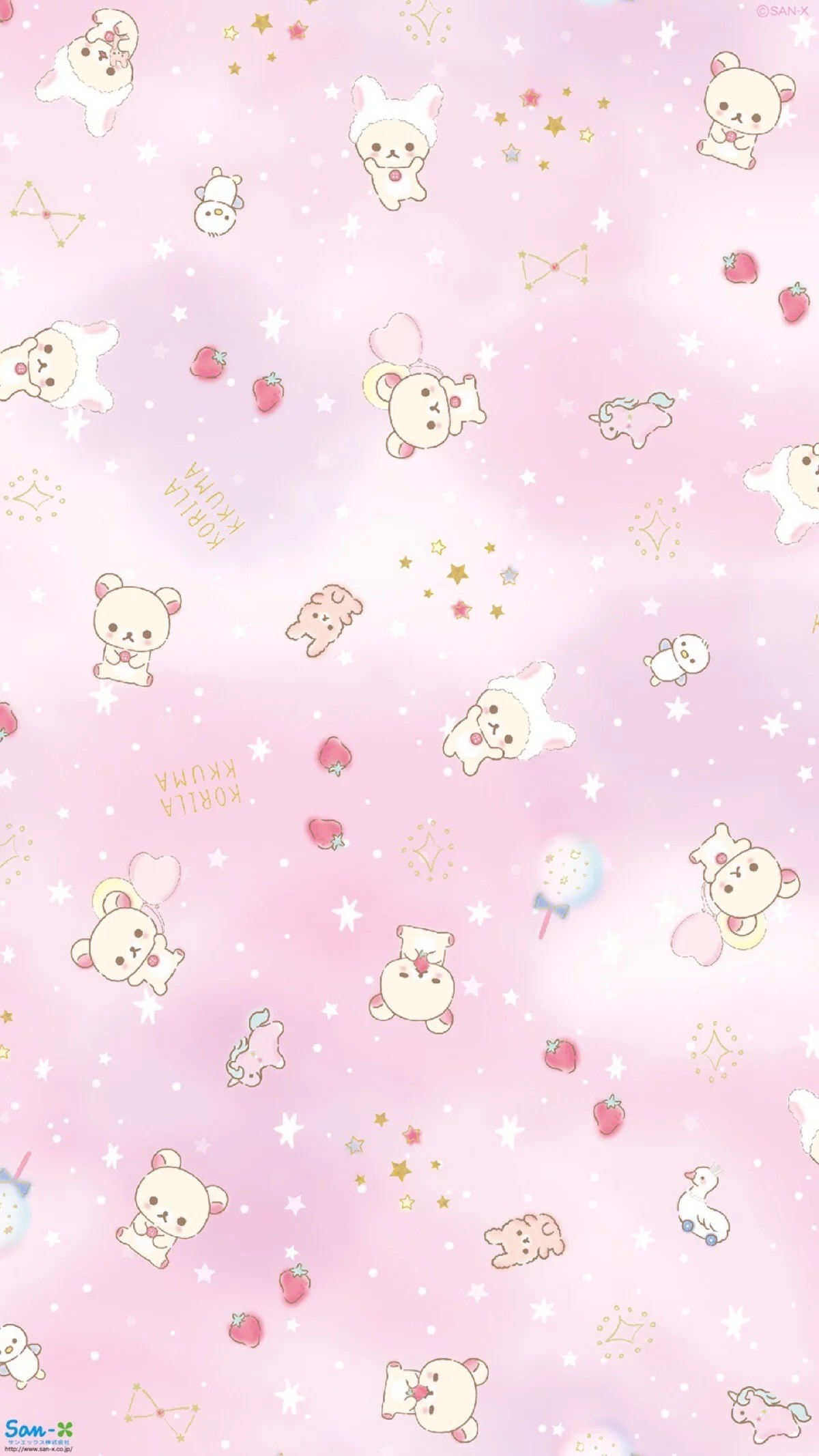 1200x2133 Rilakkuma Iphone Wallpaper Kawaii