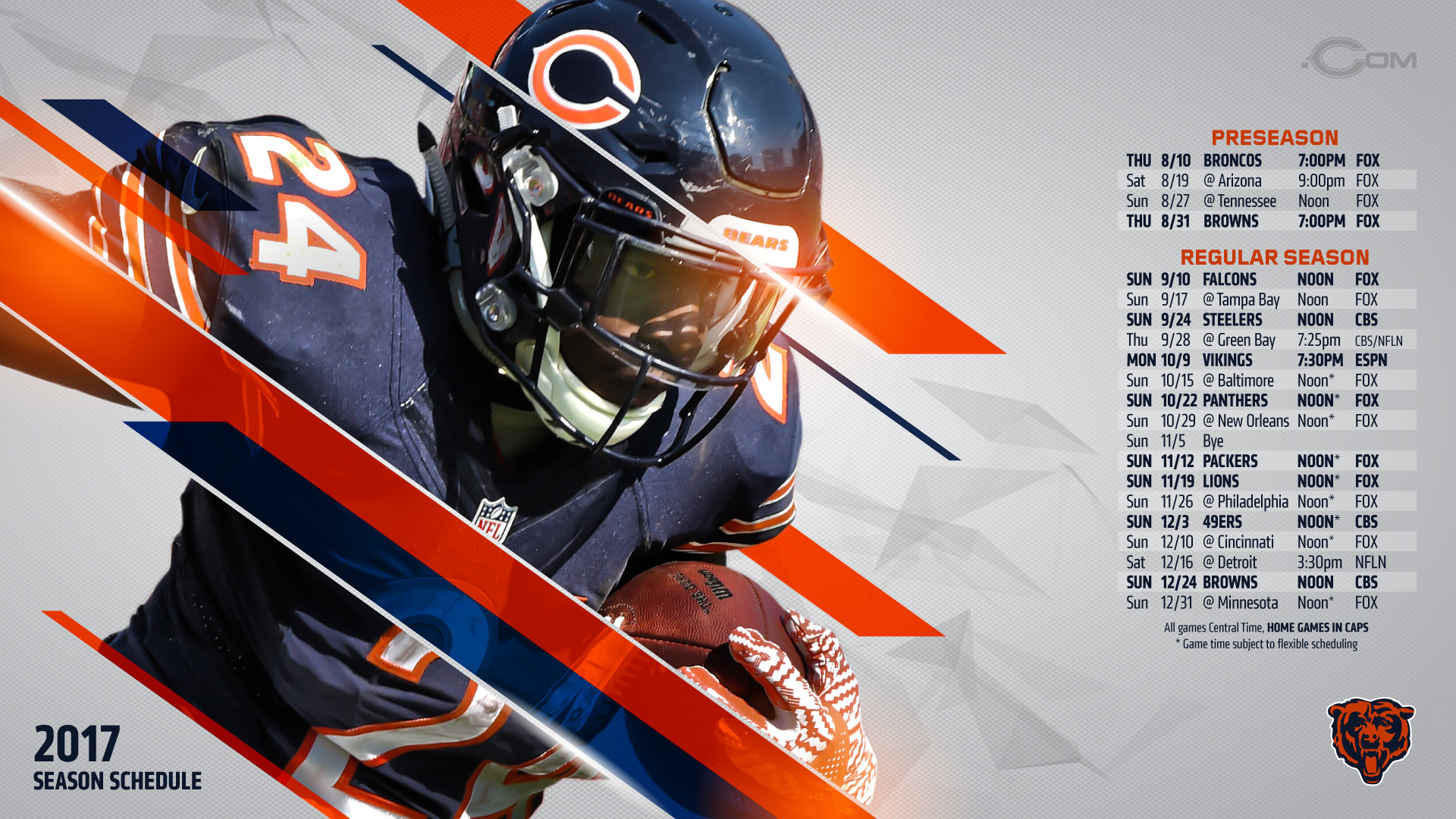 Chicago Bears 2018 Wallpapers (57+ Images
