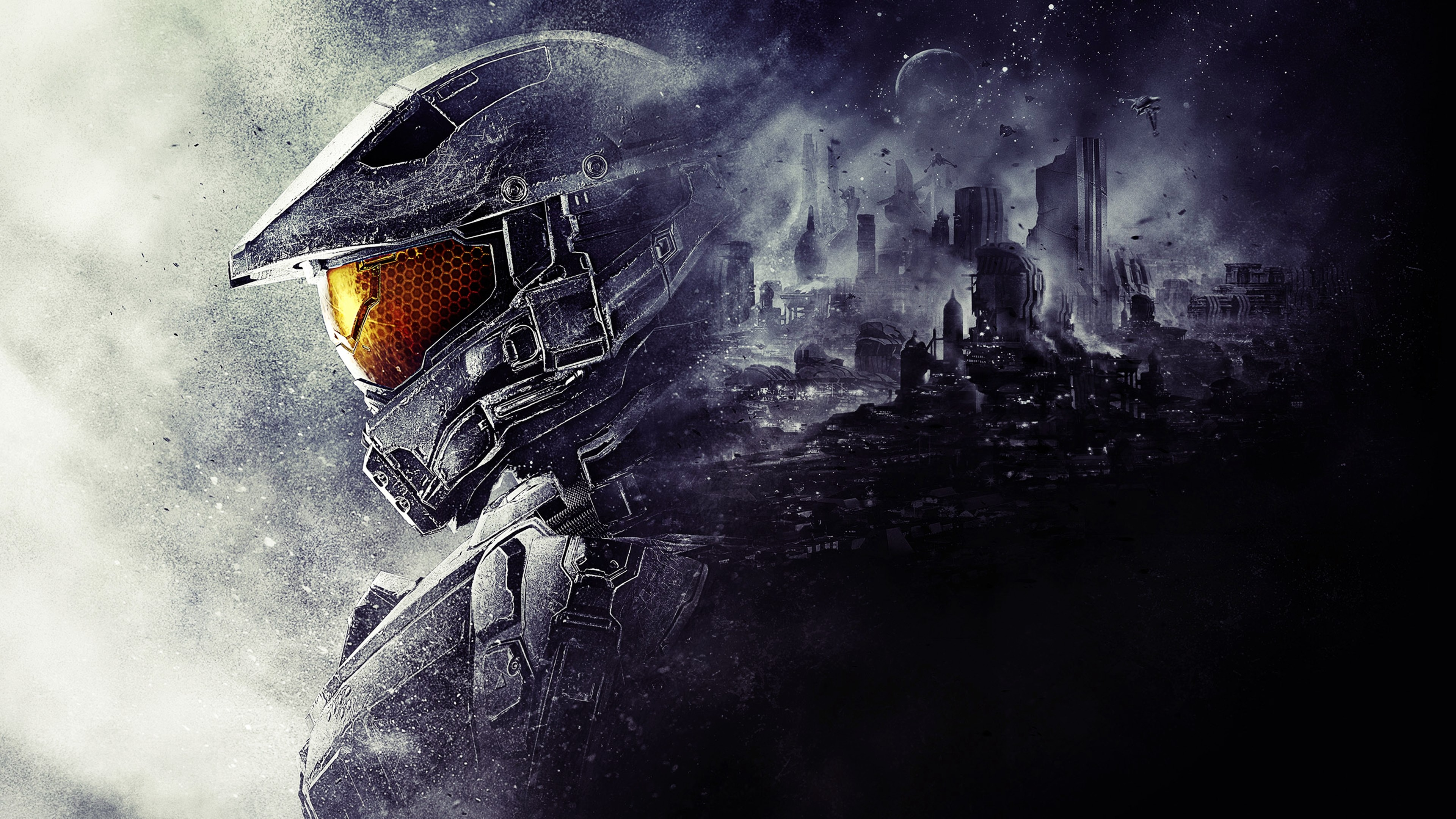 3840x2160 Video Game - Halo 5: Guardians Master Chief Wallpaper