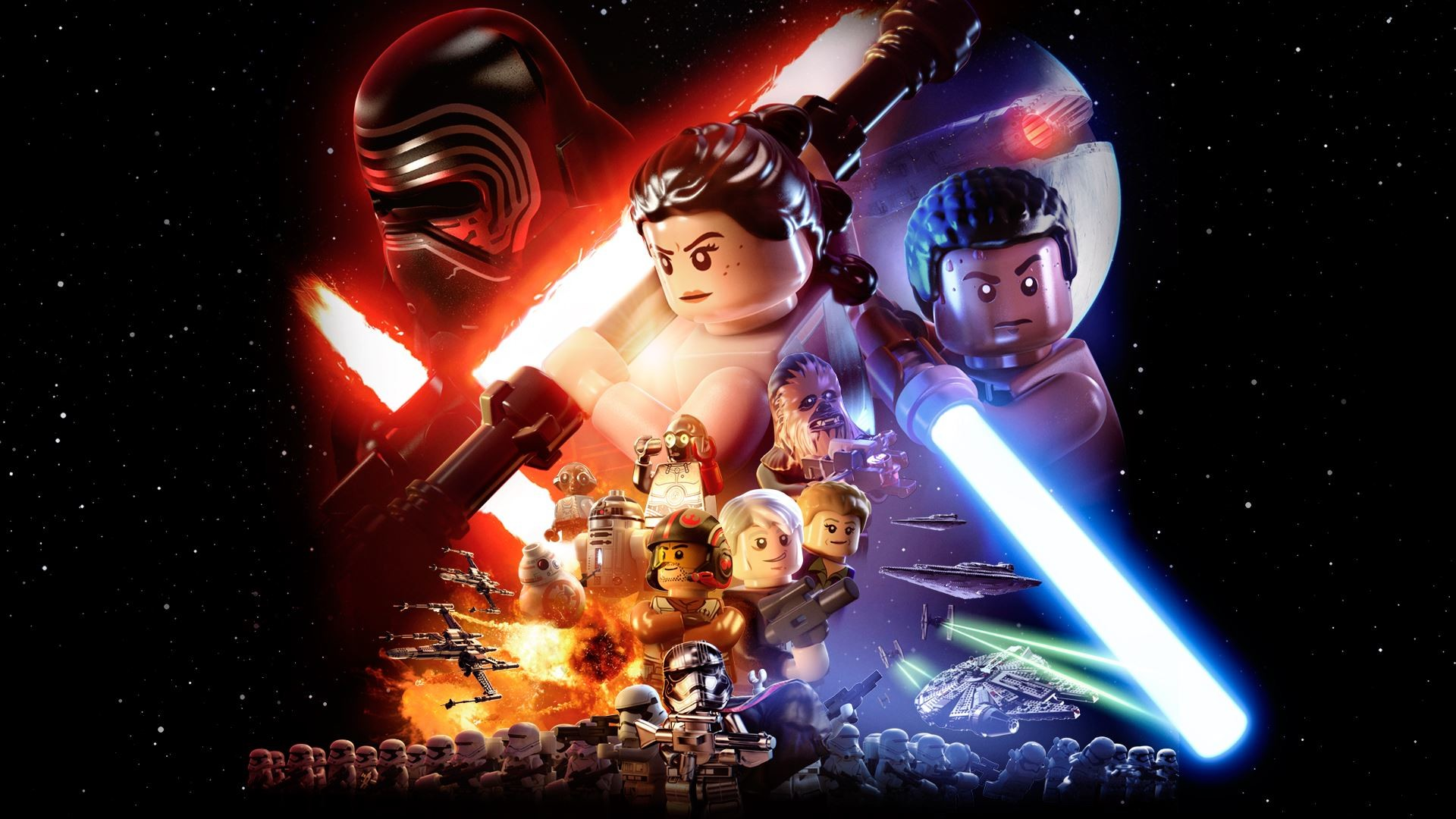1920x1080 LEGO Star Wars: The Force Awakens widescreen wallpapers