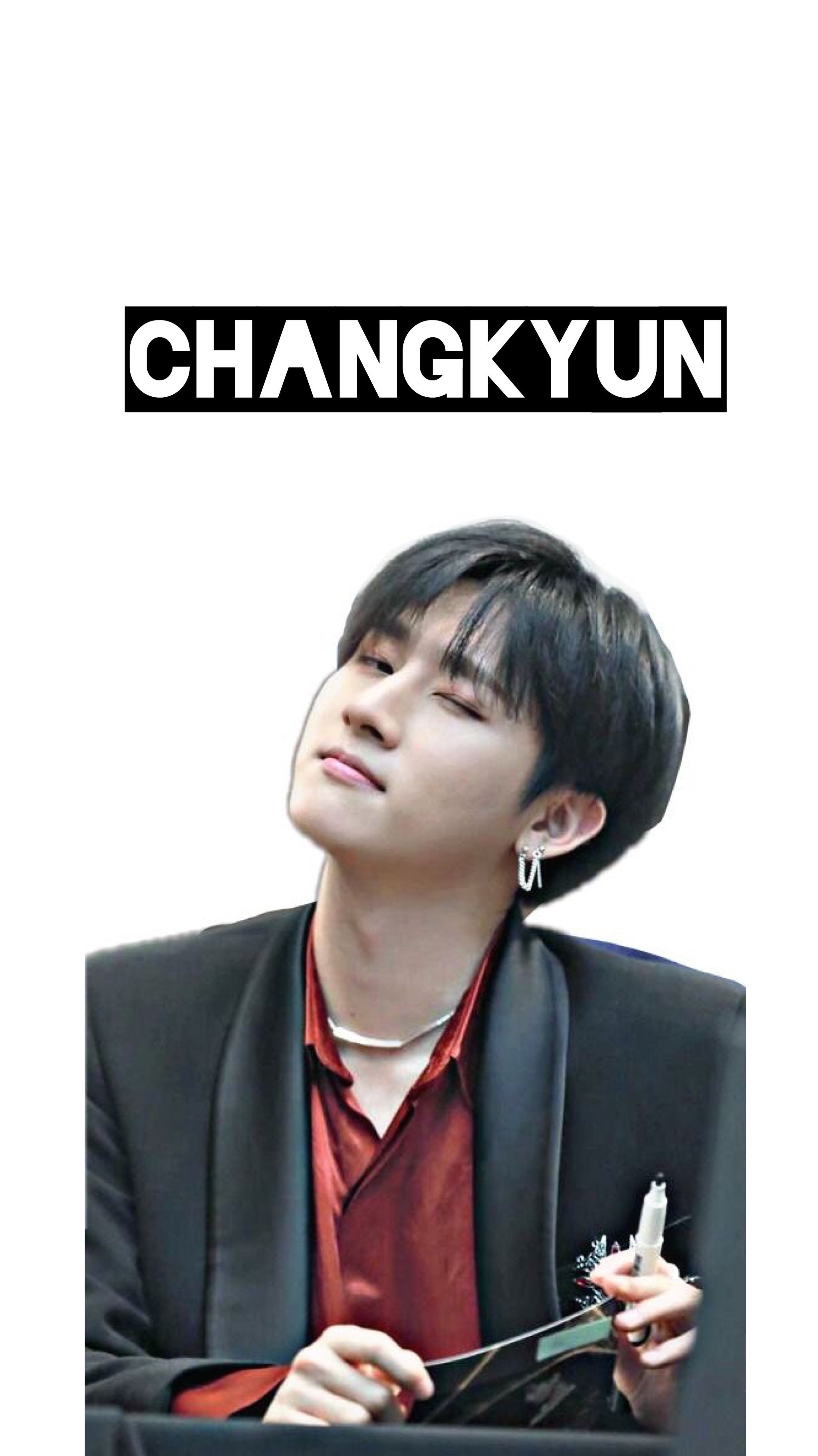 2048x3644 Monsta X ♥ Lim Changkyun ♥️Wallpaper ❤️