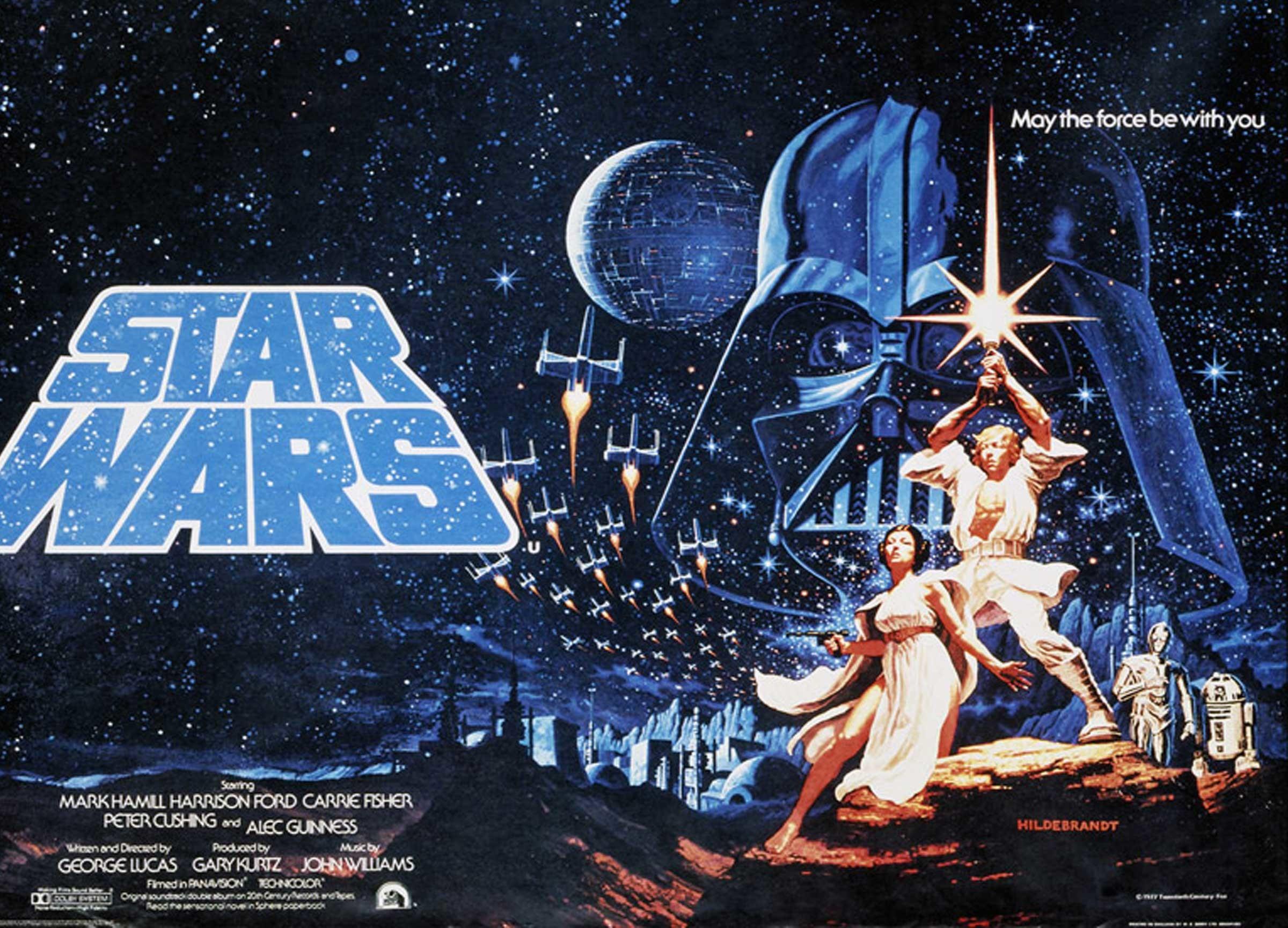 Star wars movie poster wallpaper