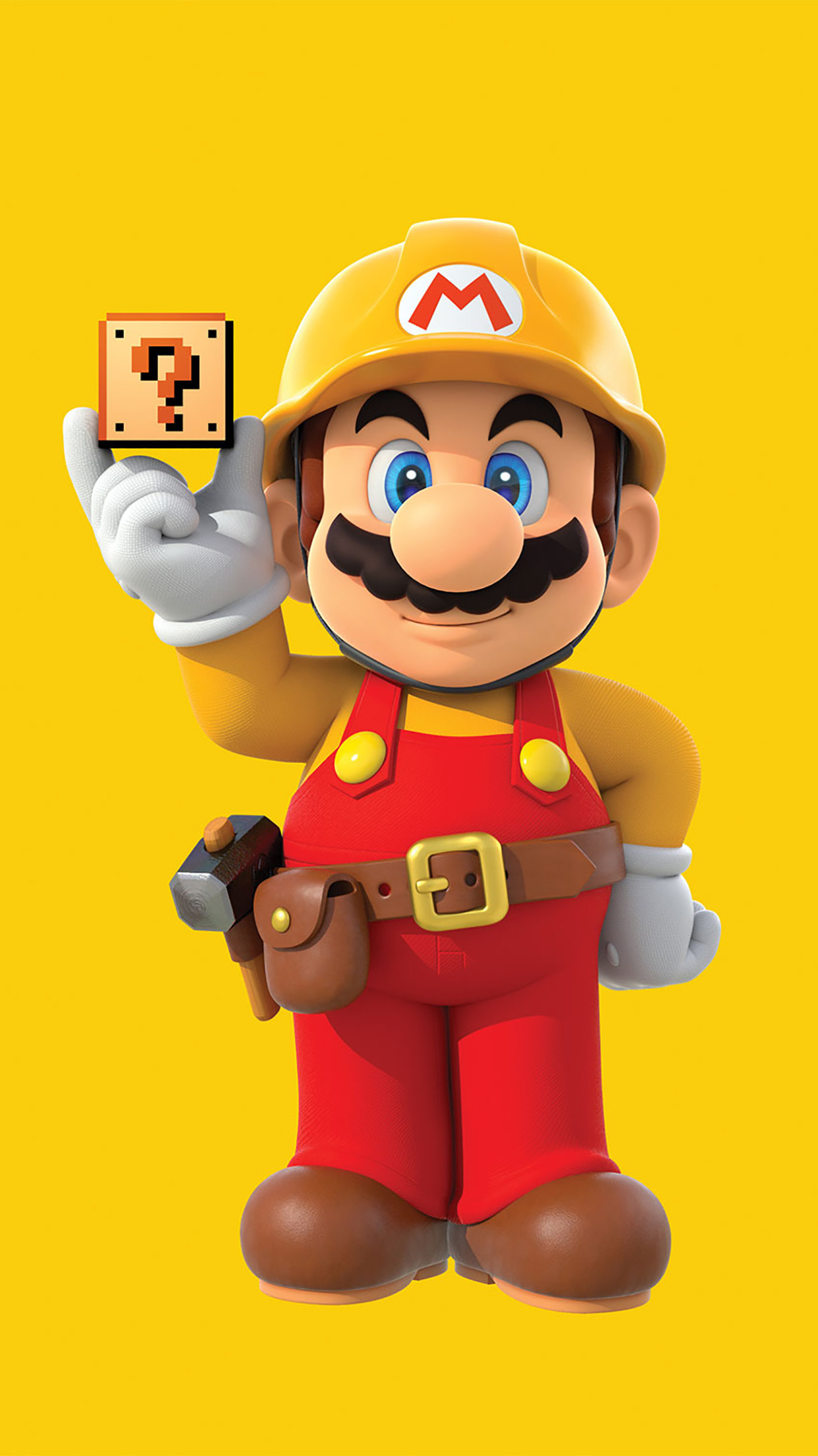 1242x2208 ... Super Mario Stand Up Wallpaper for iPhone X 8 7 6 Free