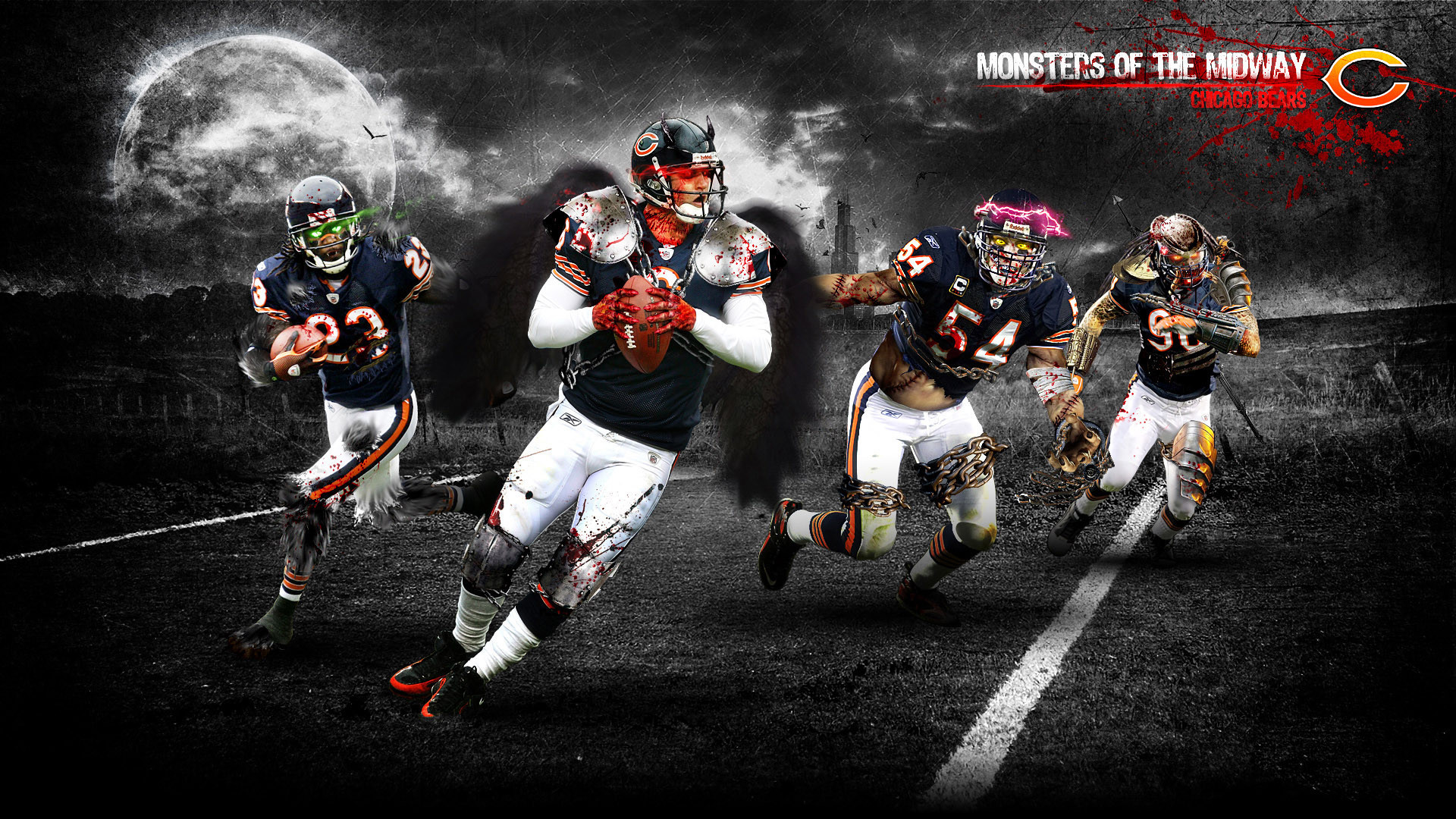 1920x1080  wallpaper.wiki-Free-Download-Chicago-Bears-Backgrounds-PIC