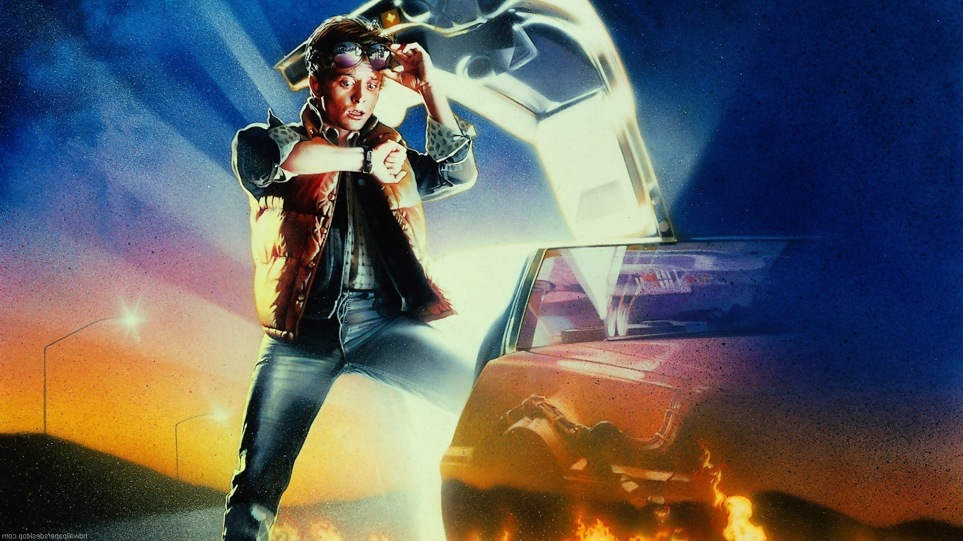 1920x1080 Back To The Future, DeLorean, Movies, Time Travel Wallpapers HD / Desktop  and Mobile Backgrounds