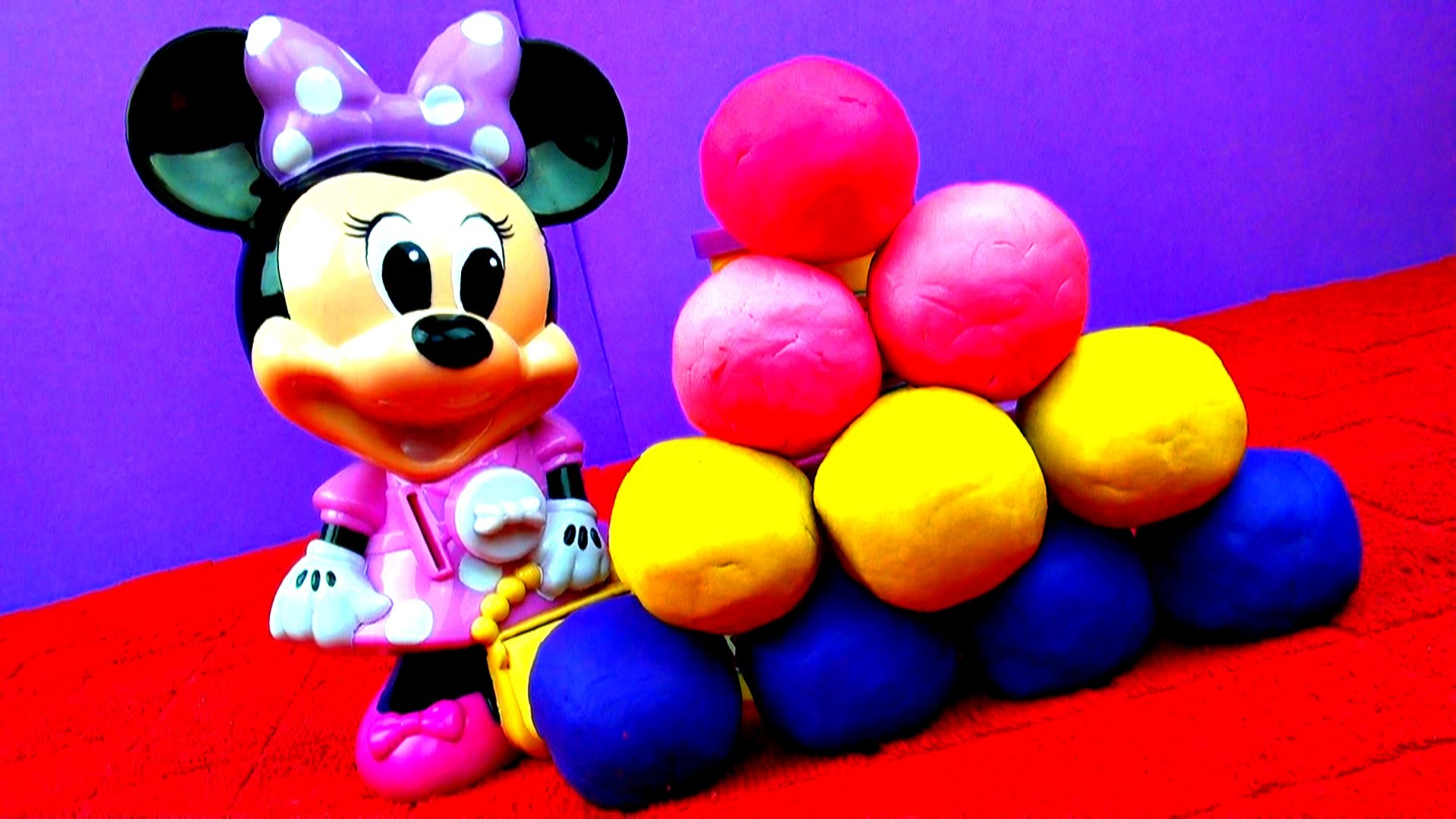 1920x1080 Minnie Mouse Play-Doh Surprise Eggs Mickey Mouse Disney Frozen Peppa Pig  Cars 2 Toy Story FluffyJet - YouTube