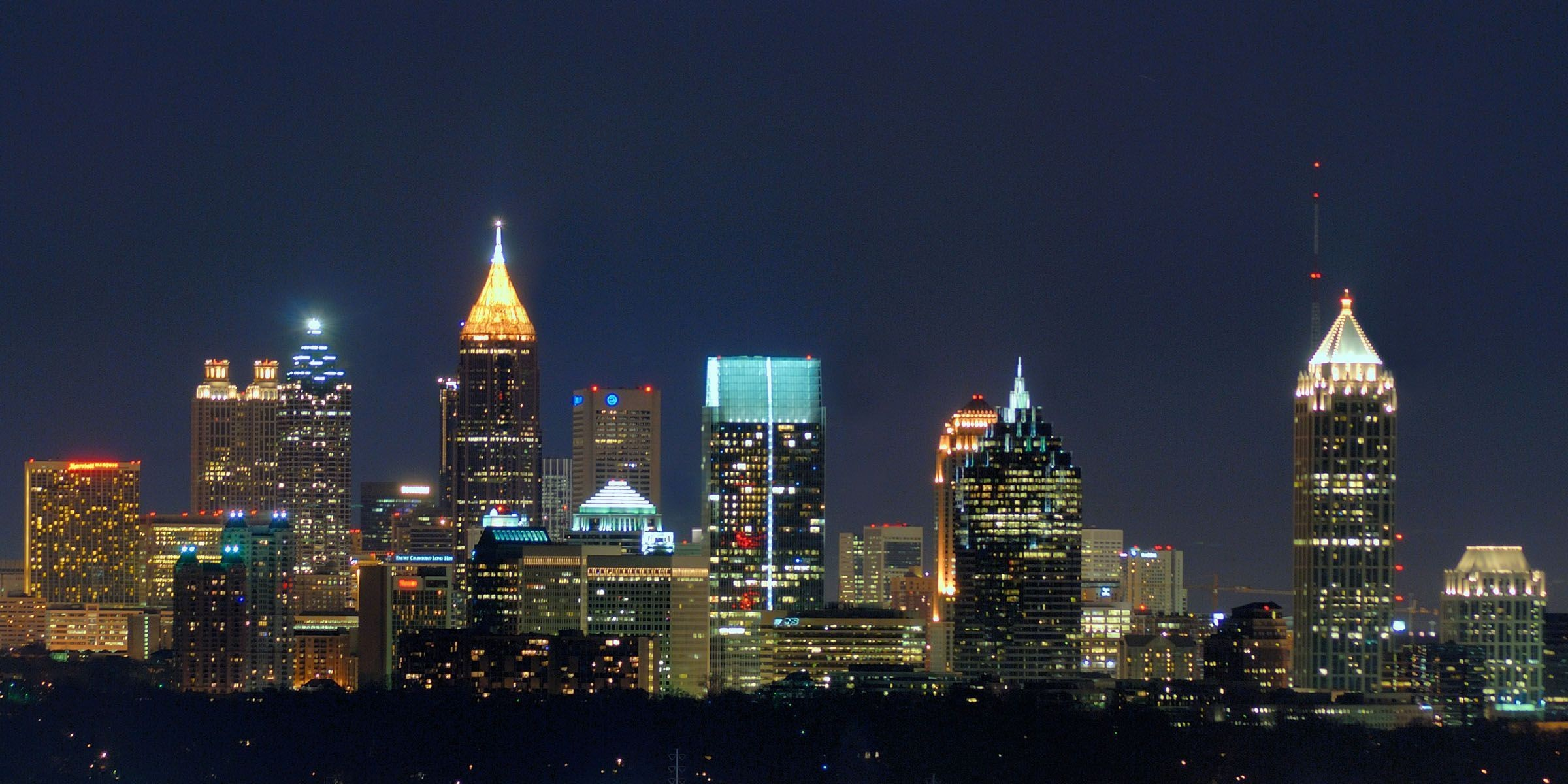 2400x1200 Atlanta HD Wallpapers - HD Wallpapers Inn