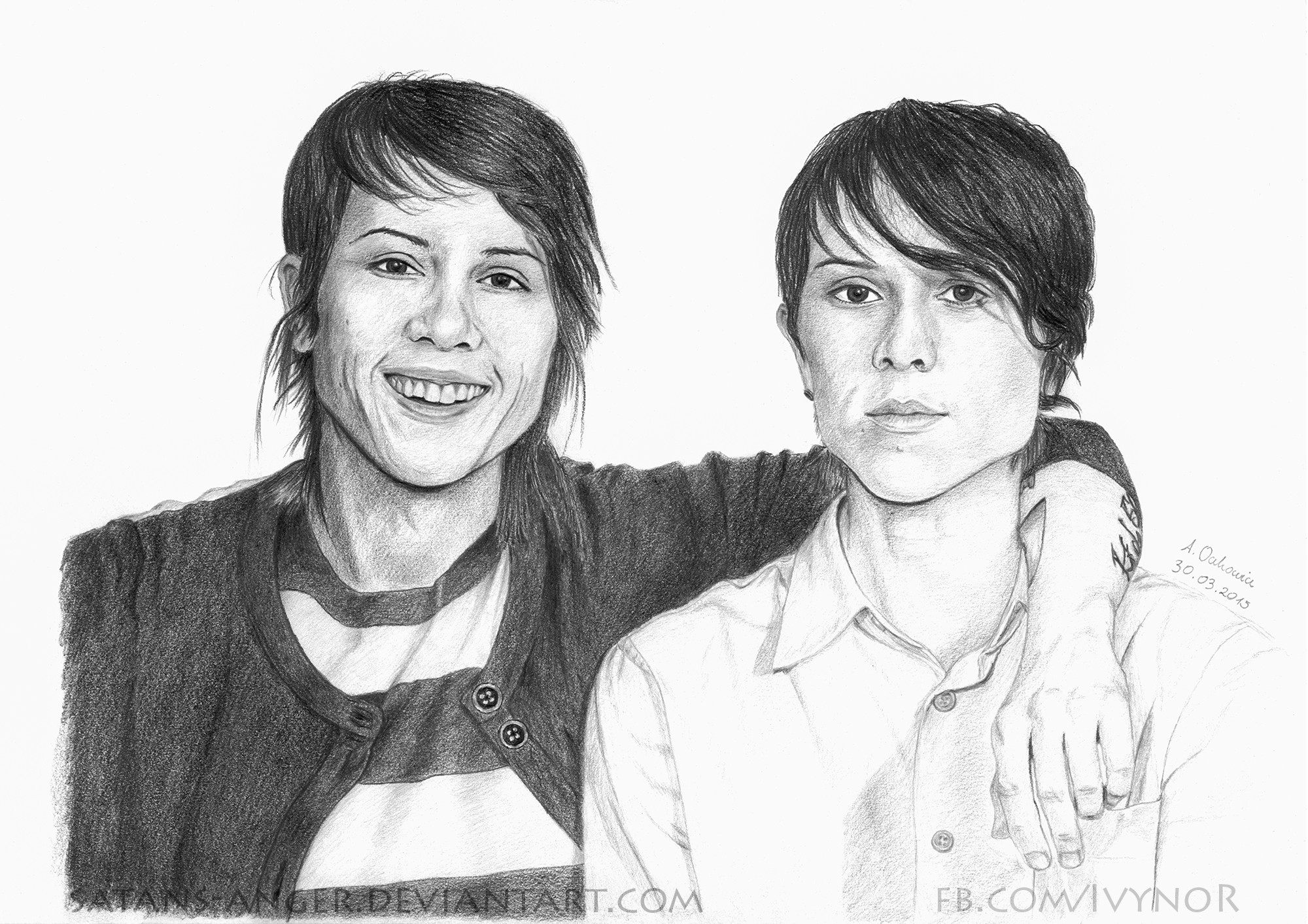 2000x1413 ... Tegan and Sara by satans-anger