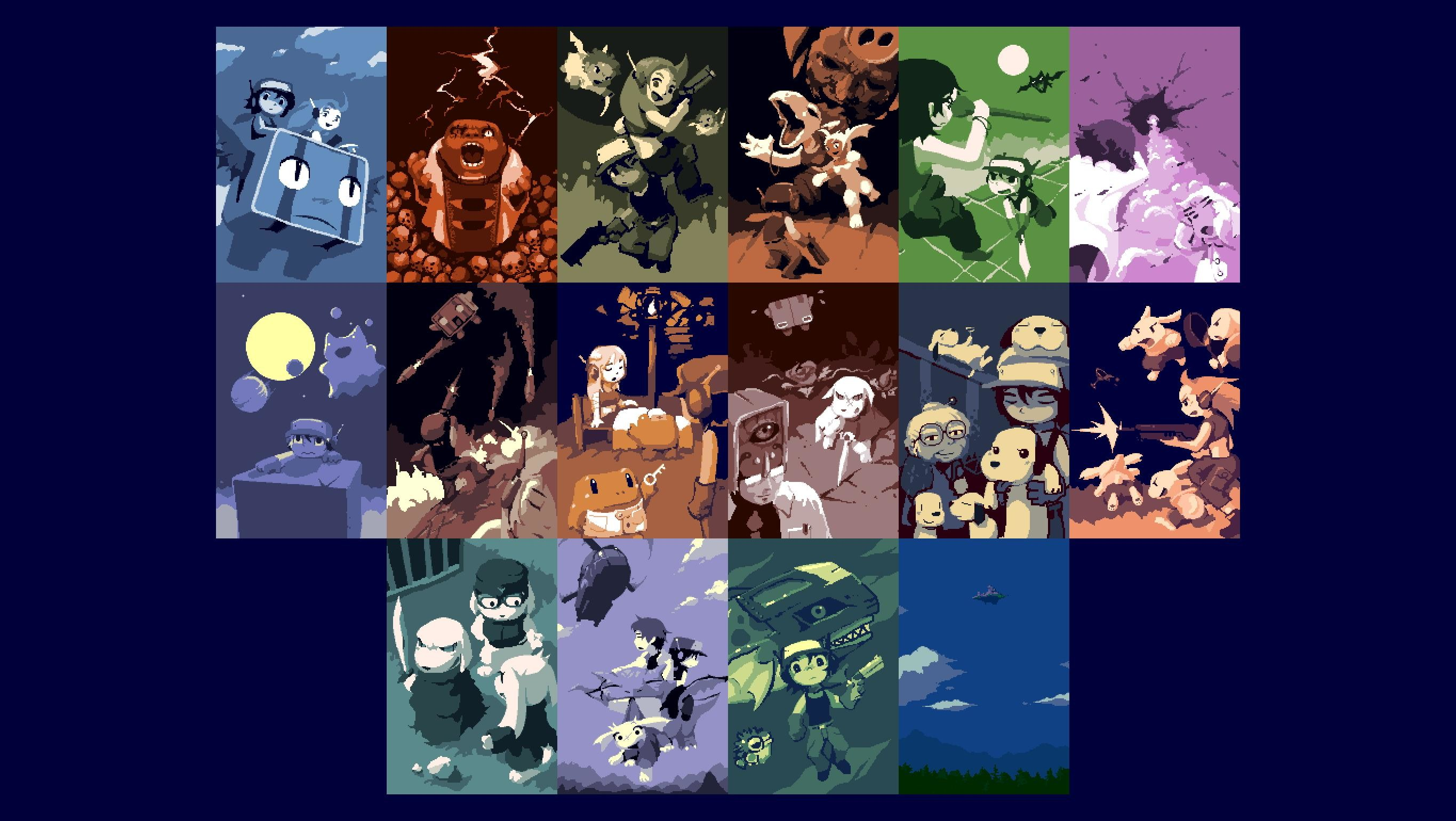 2730x1540 Cave Story Wallpaper