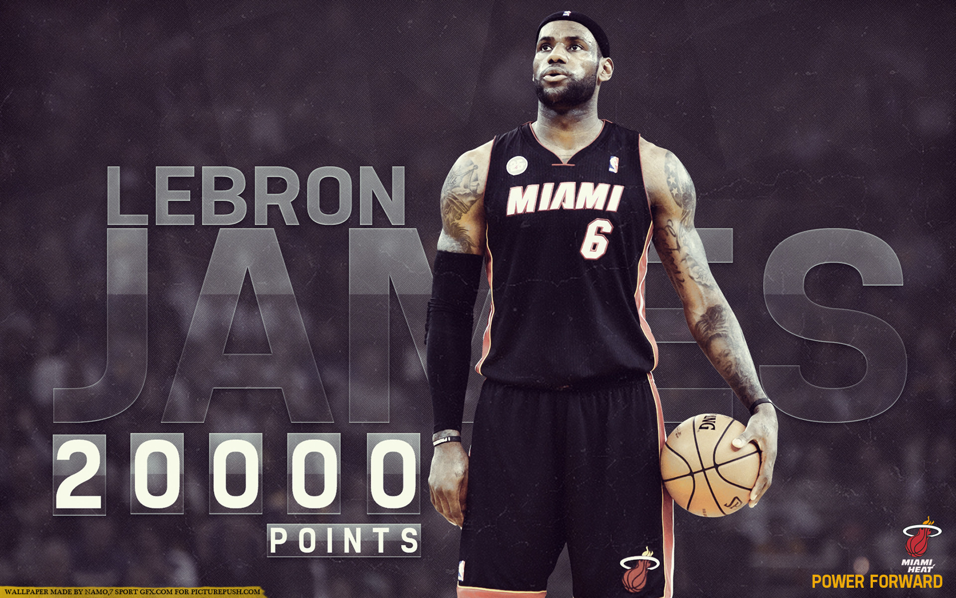 1920x1200 lebron james power forward miami heat hd wallpaper hd background wallpapers  free cool tablet smart phone 4k high definition 1920×1200 Wallpaper HD