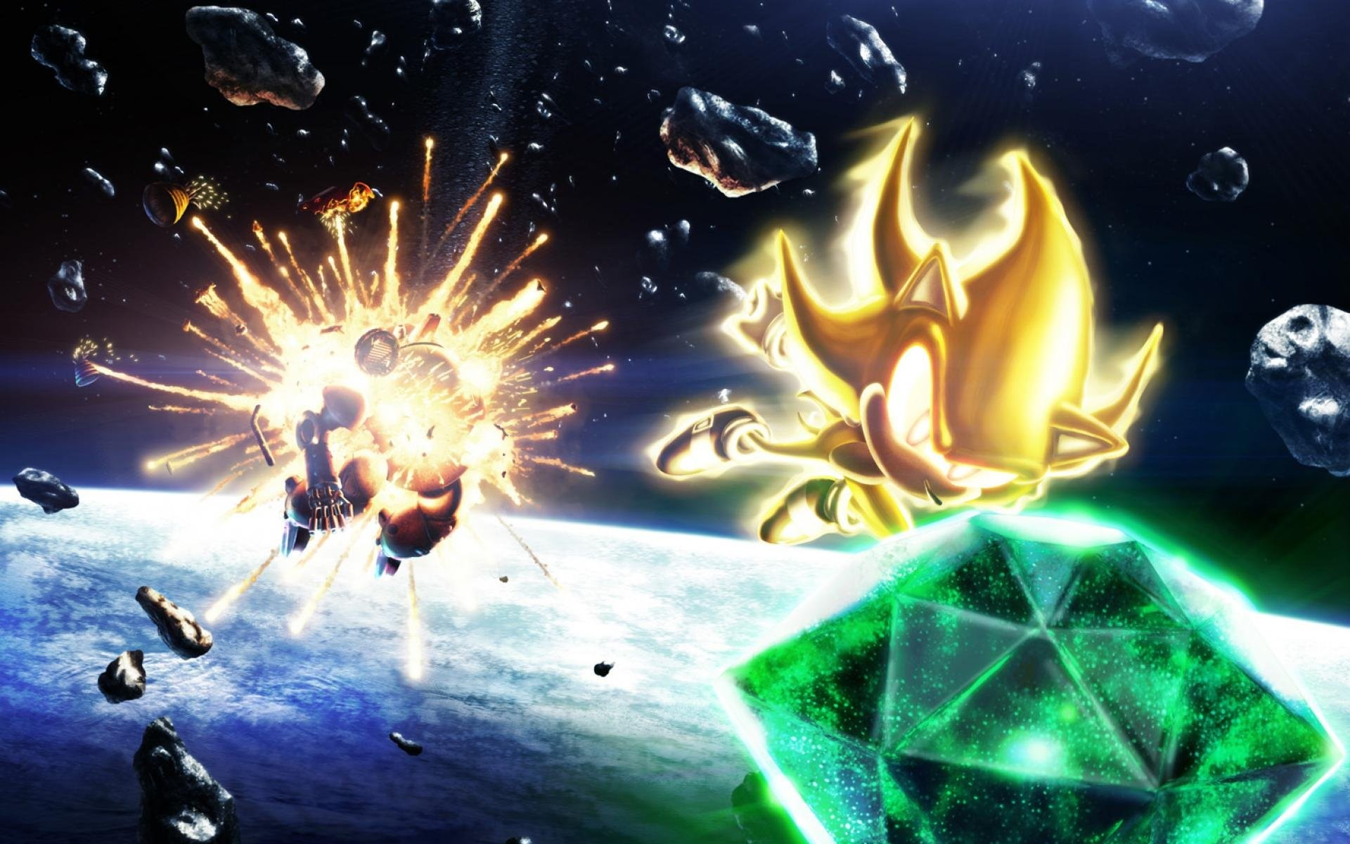 Super Sonic Backgrounds (74+ Images