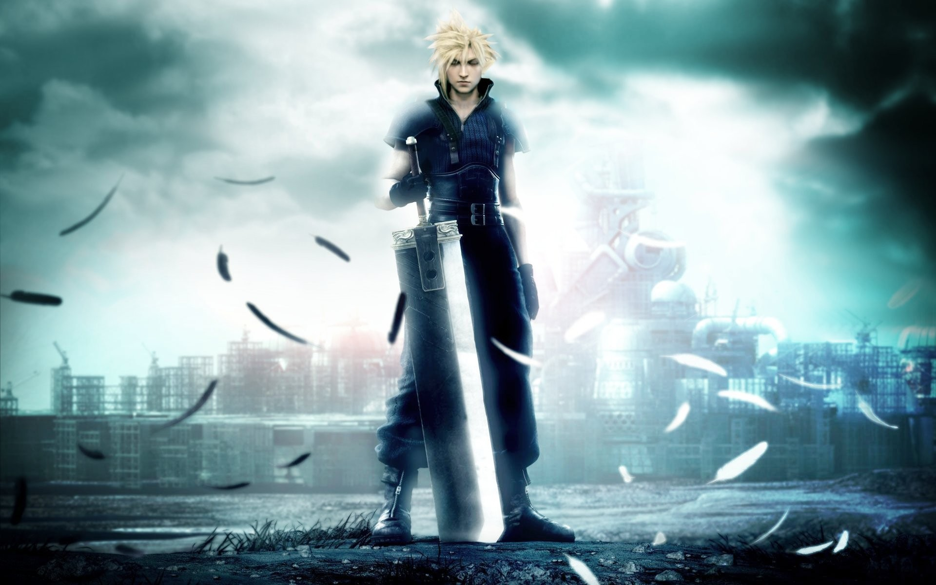 1920x1200 Filme - Final Fantasy VII: Advent Children Final Fantasy Wallpaper