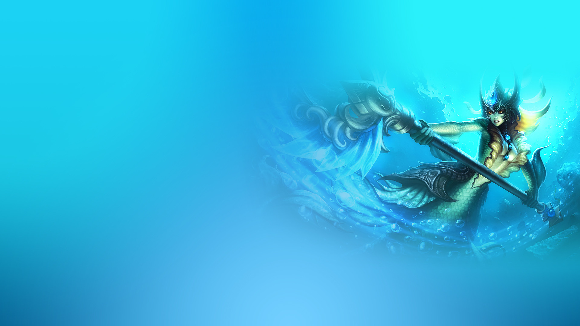 1920x1080 Computerspiele - League Of Legends Nami (League of Legends) Wallpaper