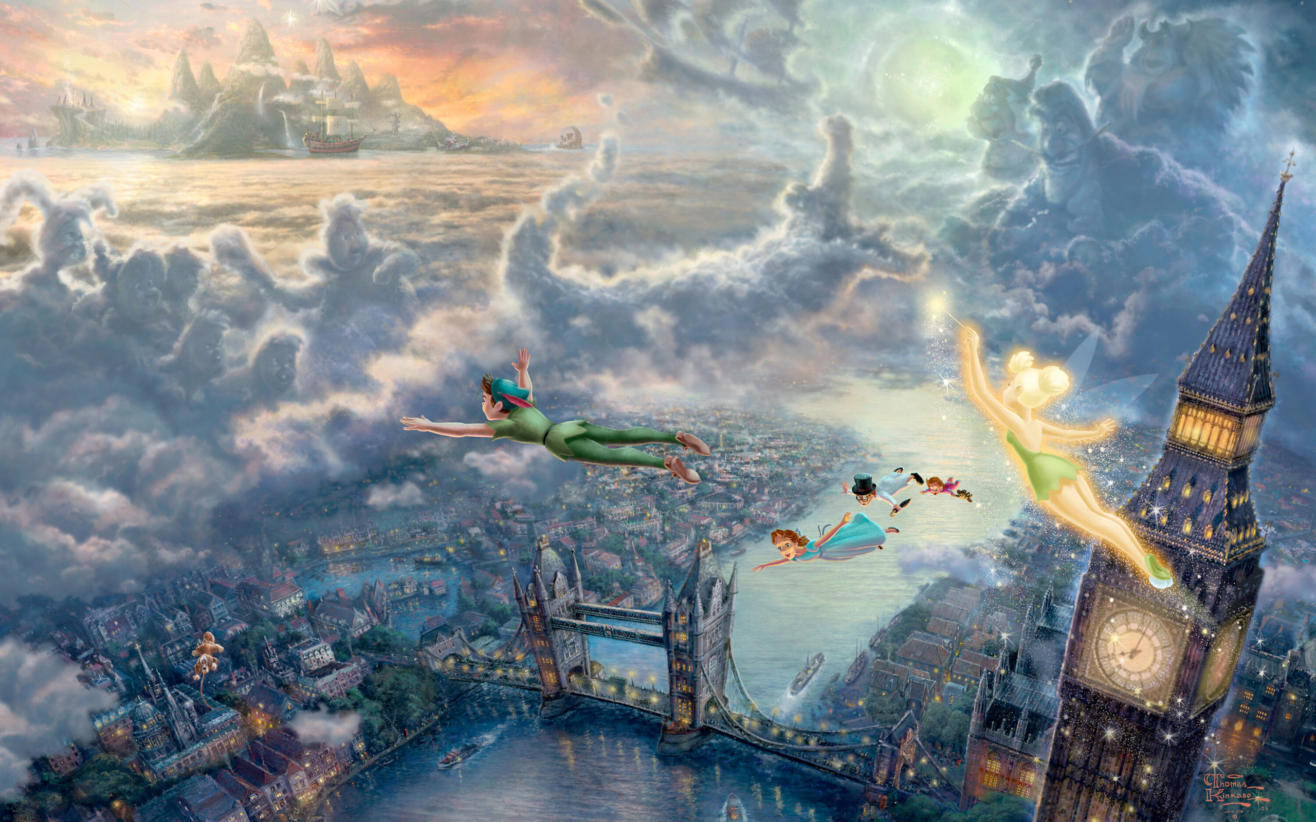 2560x1600 best images about Tinker bell wallpaper on Pinterest Disney