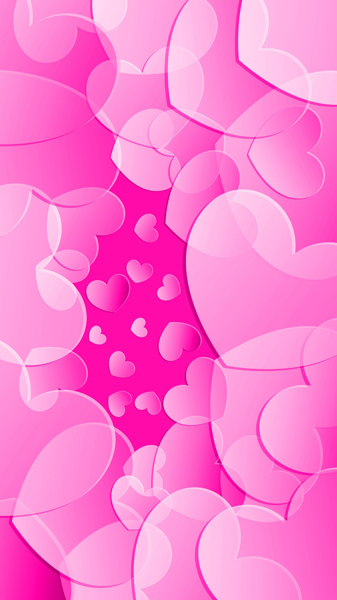 1080x1920 I'm really in a Pink mood this week. I'm Styling Pink Wallpapers for both  Home and Lock Screens today. They are both full of hearts, is love in the  air?