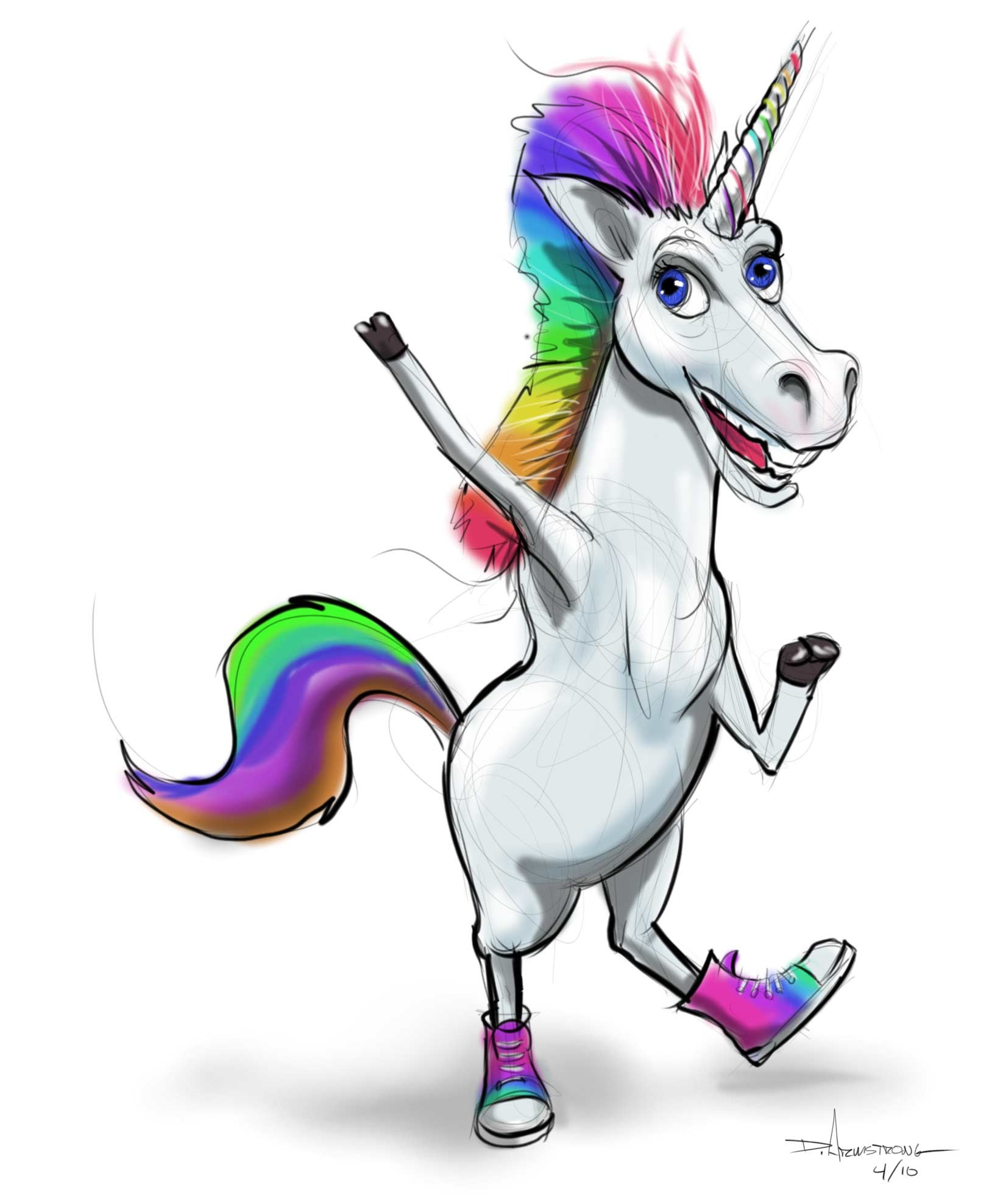 1623x1977 Animated Unicorn Yes, that is a unicorn with