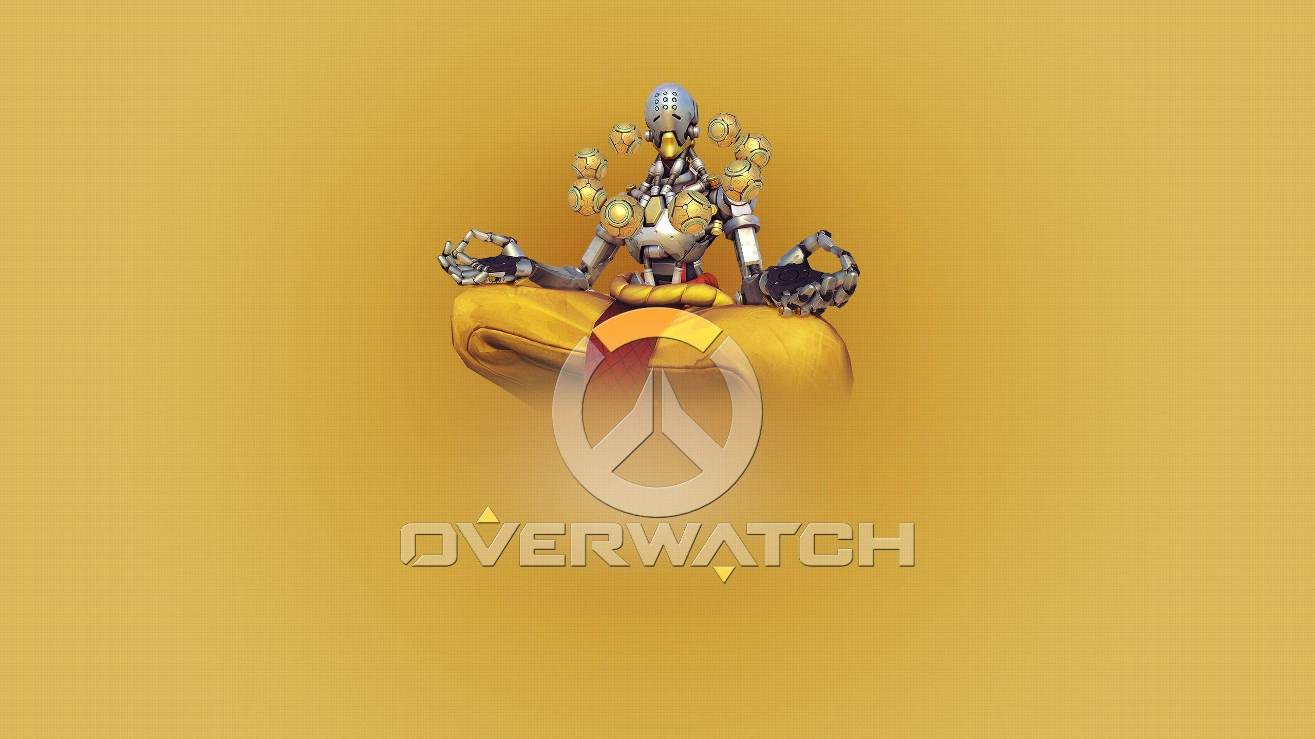 2560x1440 Free Wallpapers - Overwatch Zenyatta wallpaper