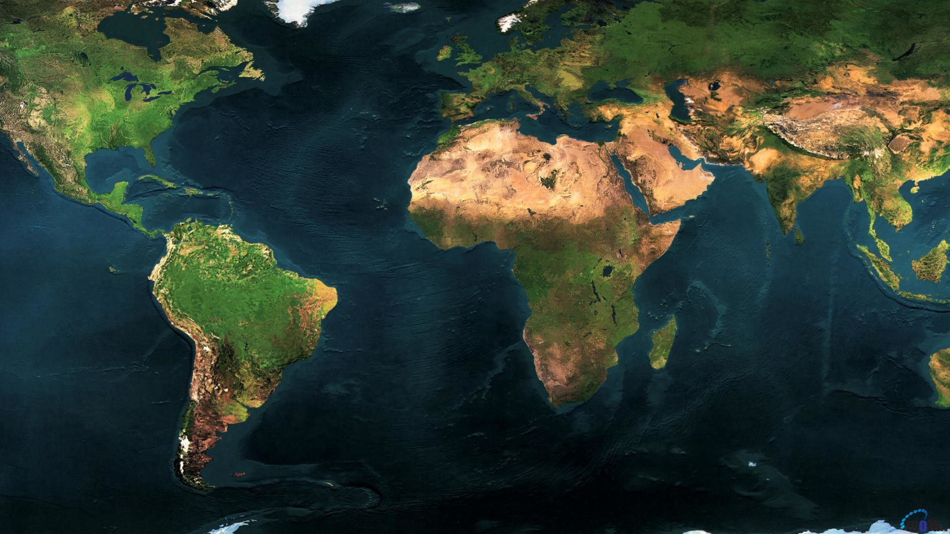 1920x1080 Download Wallpaper Earth Map Dual Monitor (1920 x 1080 HDTV 1080p .