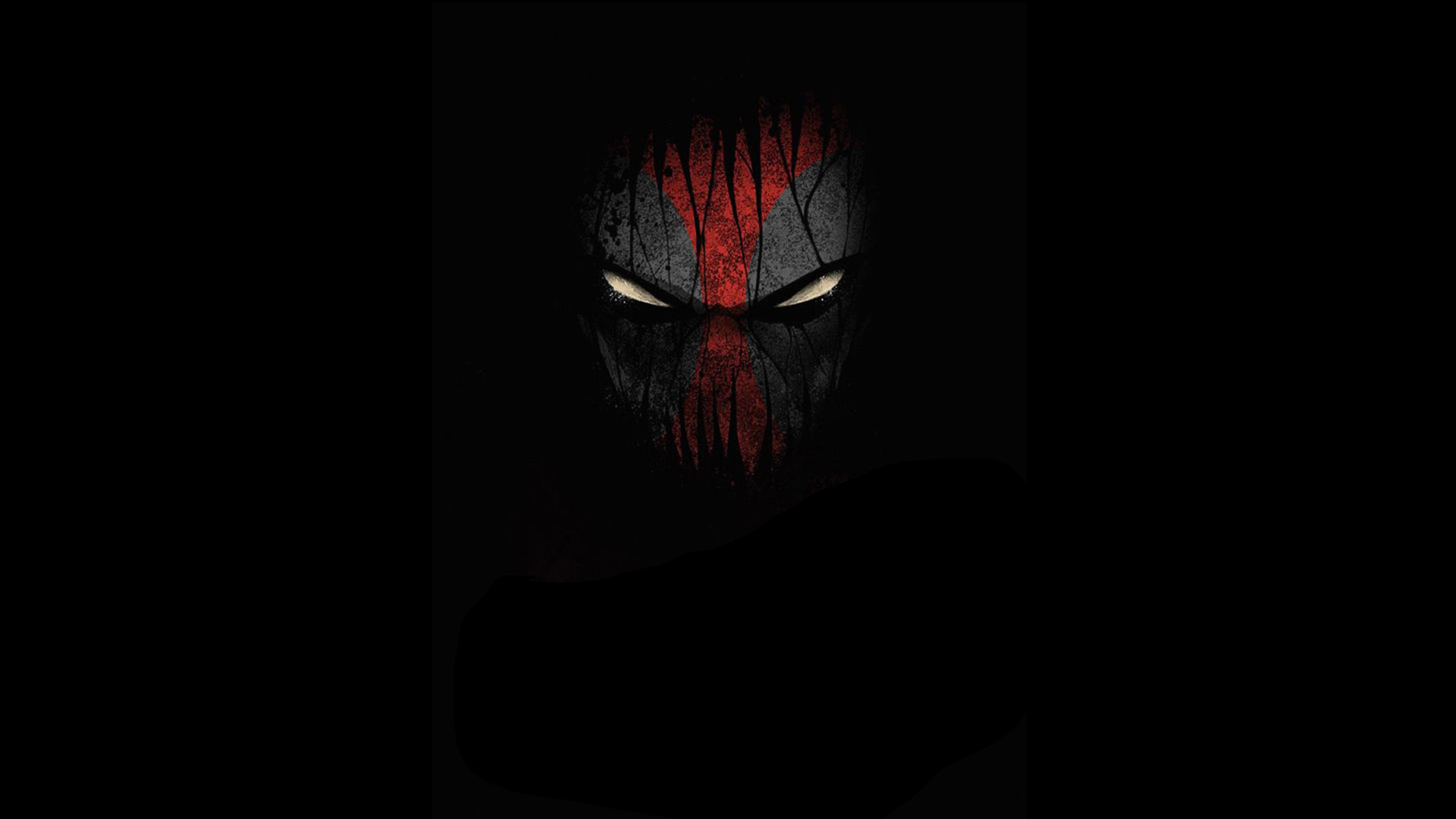 1920x1080 ... Attachment file of Deadpool in the dark for wallpaper ...